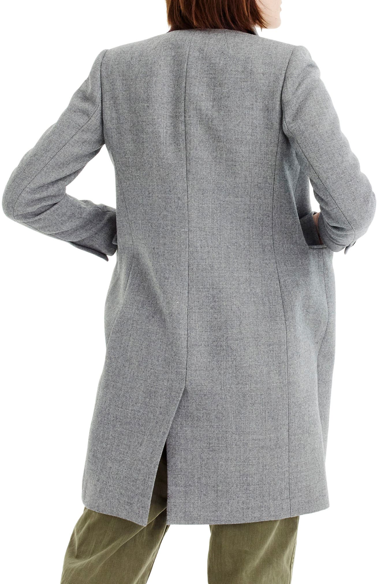 Alternate Image 2  - J.Crew Eniko Wool Topcoat