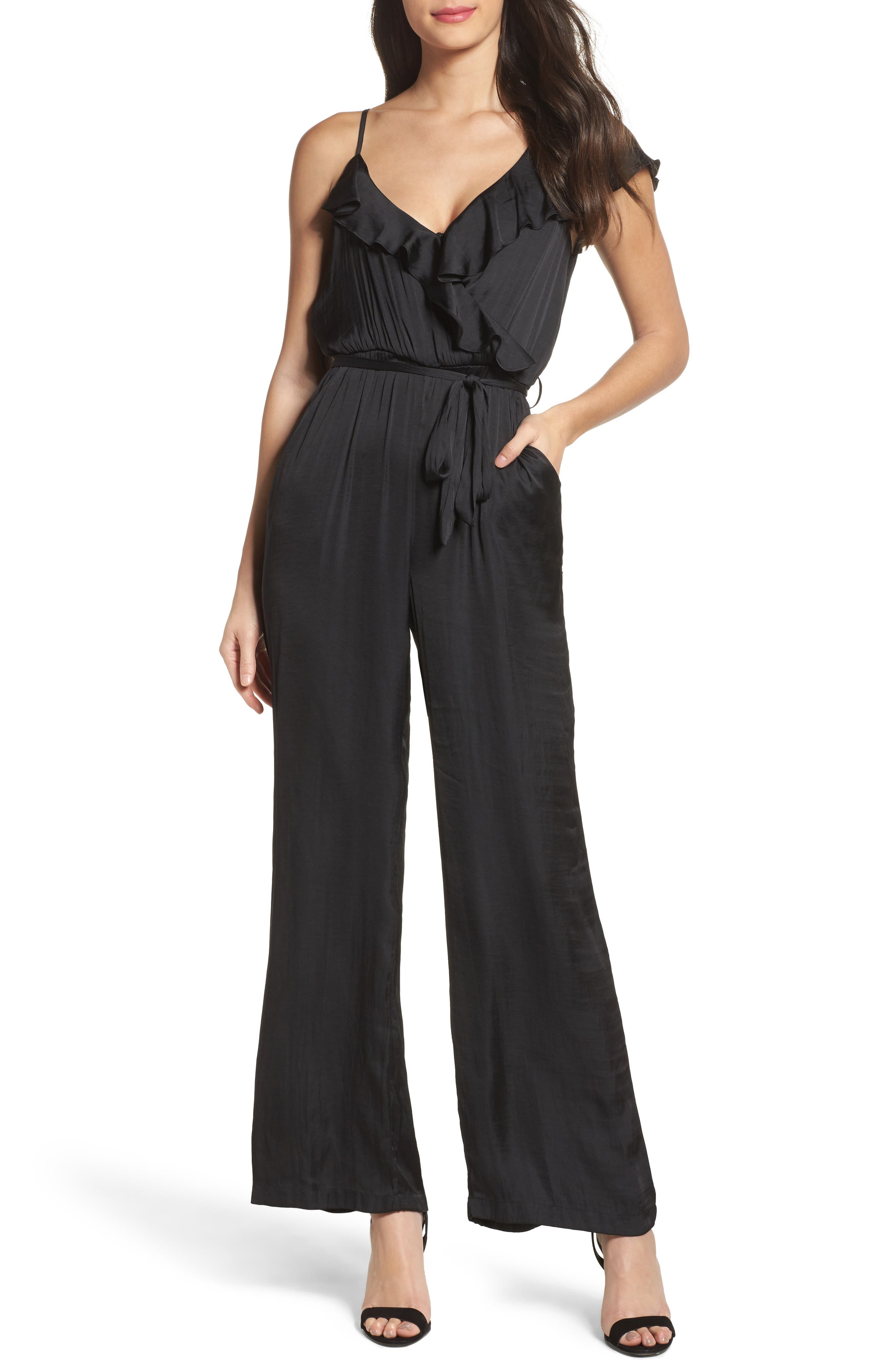Milly Jumpsuit,                         Main,                         color, Black