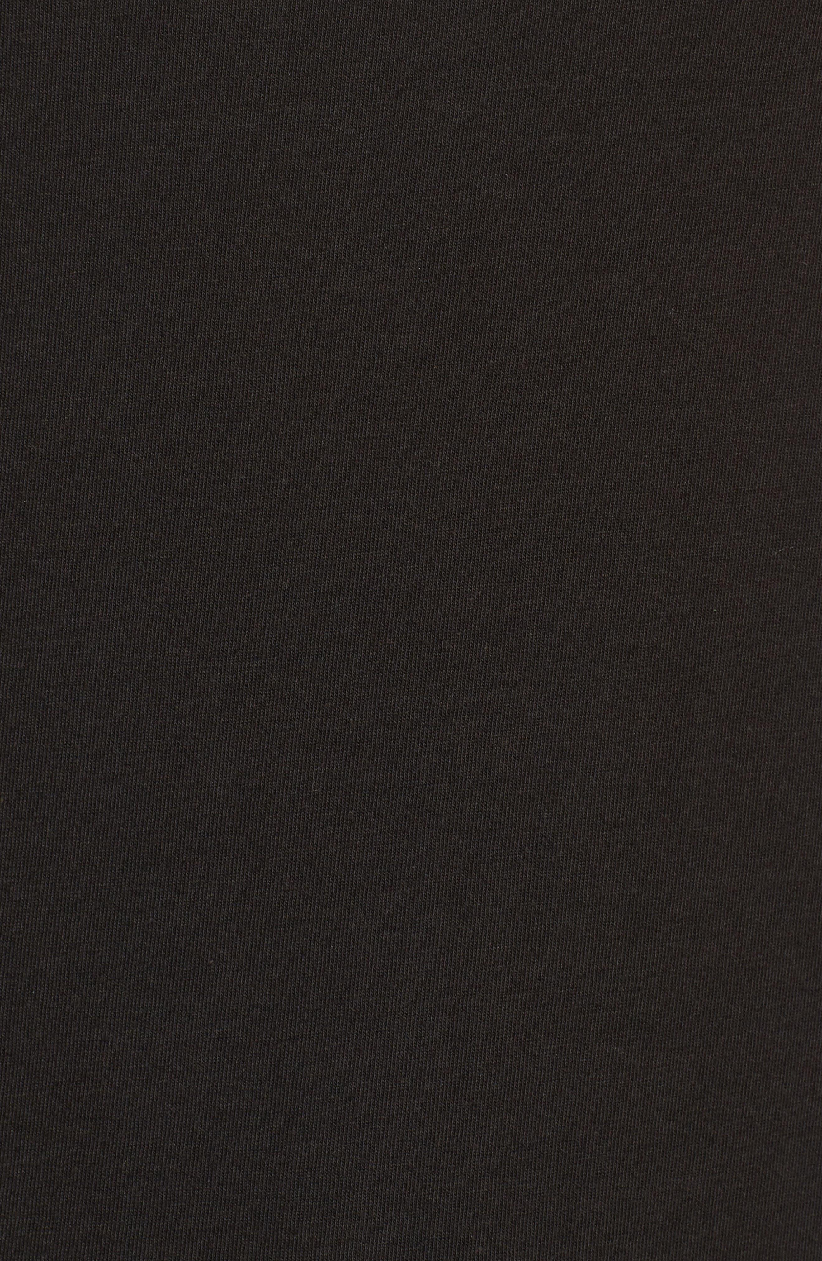 Sid Singlet Tank,                             Alternate thumbnail 6, color,                             Plain Black Marle