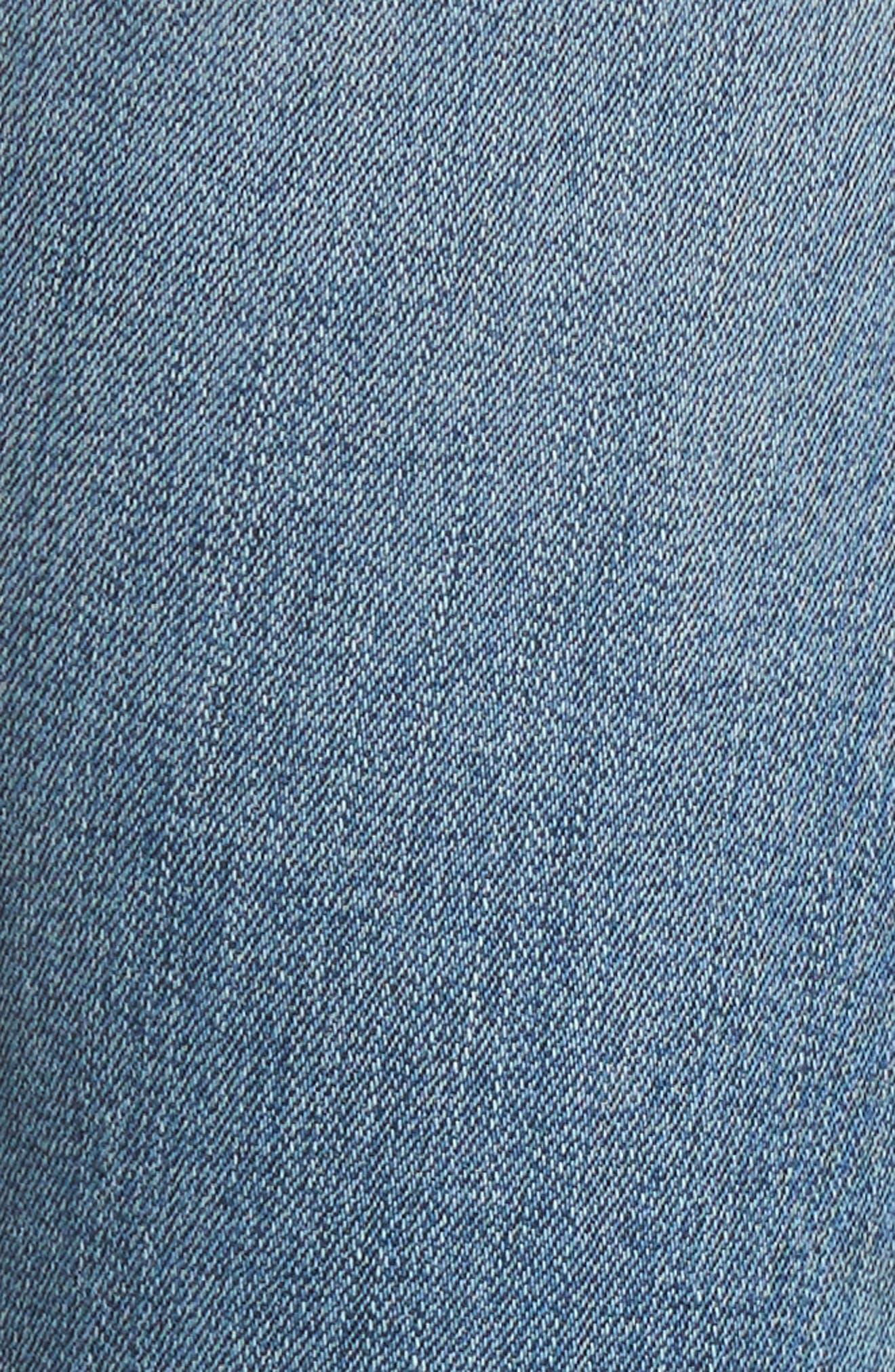 Alternate Image 5  - Hudson Jeans Barbara High Waist Ankle Skinny Jeans (Confection)