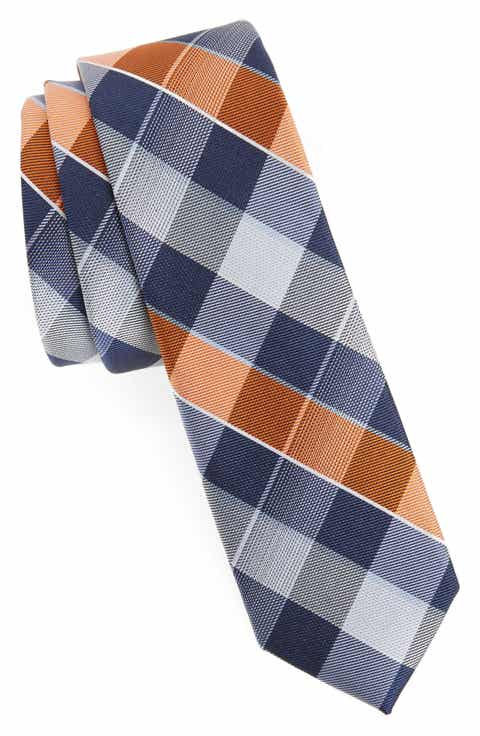 Boys accessories belts hats watches more nordstrom nordstrom plaid silk tie boys ccuart Images
