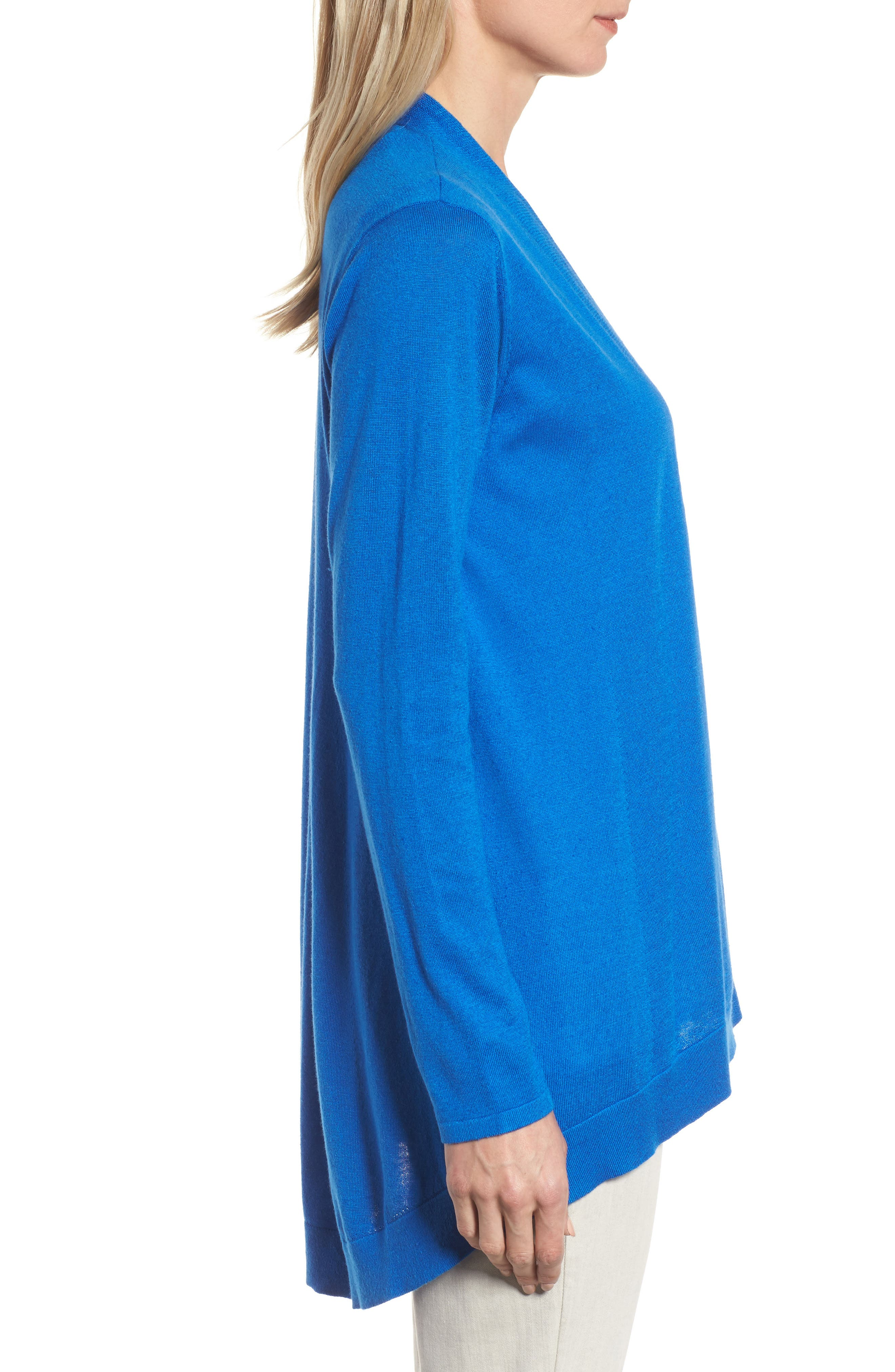 Alternate Image 3  - Eileen Fisher Shaped Tencel® Blend Cardigan