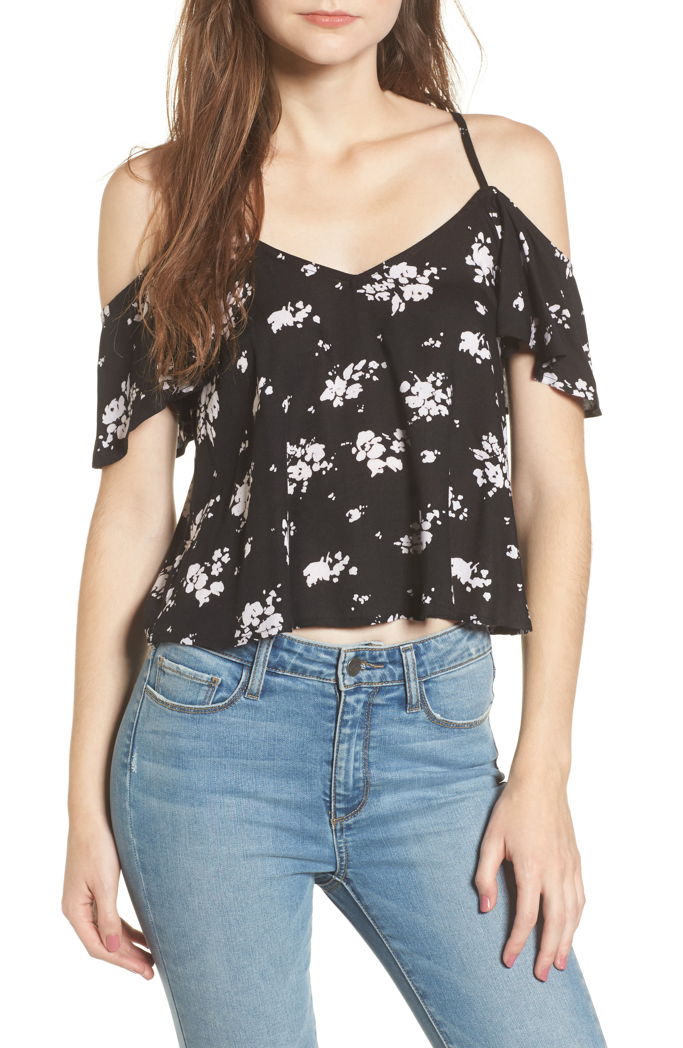 Alternate Image 1 Selected - Rip Curl Lakehouse Cold Shoulder Top