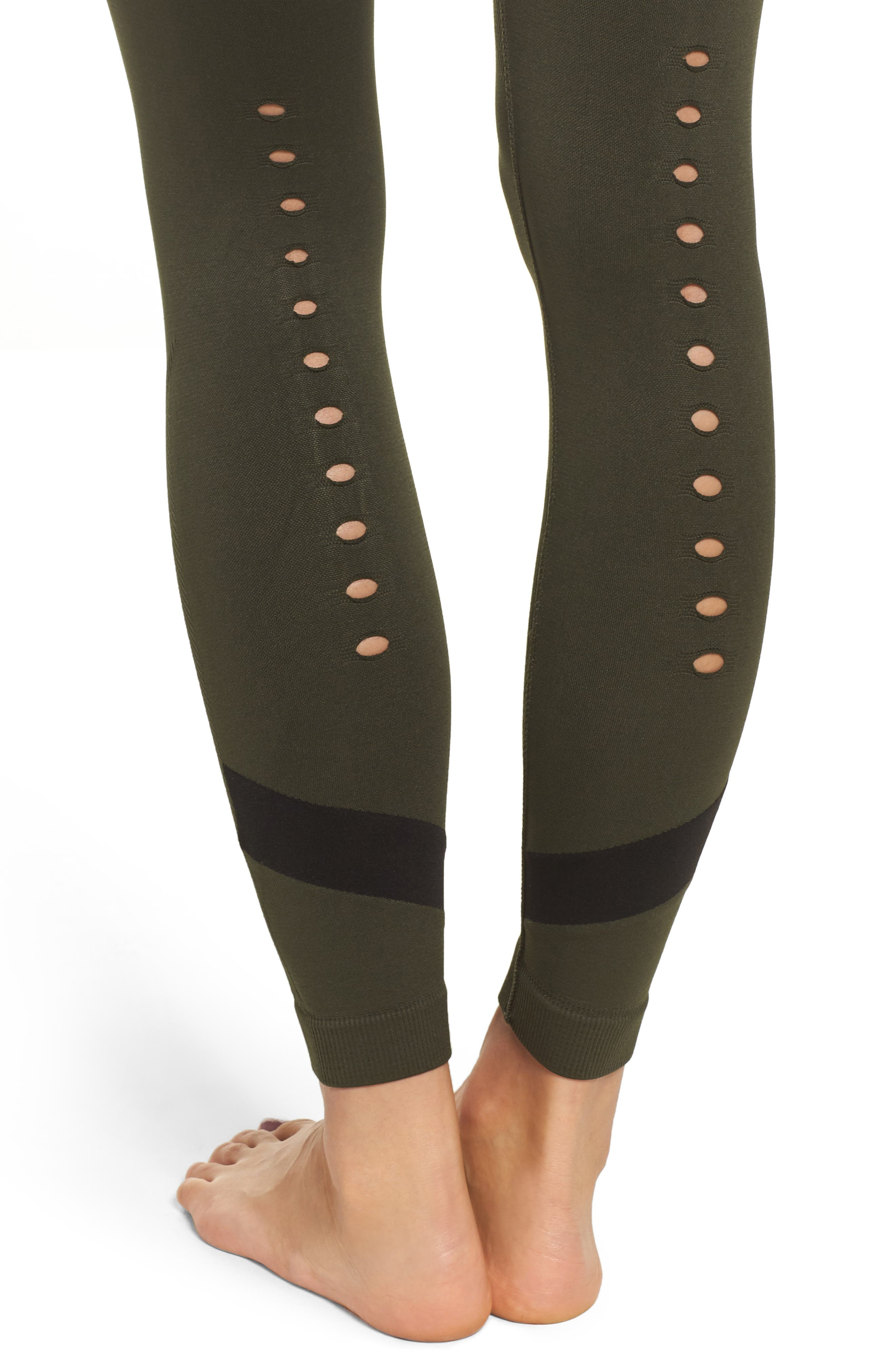 Niche Tights,                             Alternate thumbnail 4, color,                             Army
