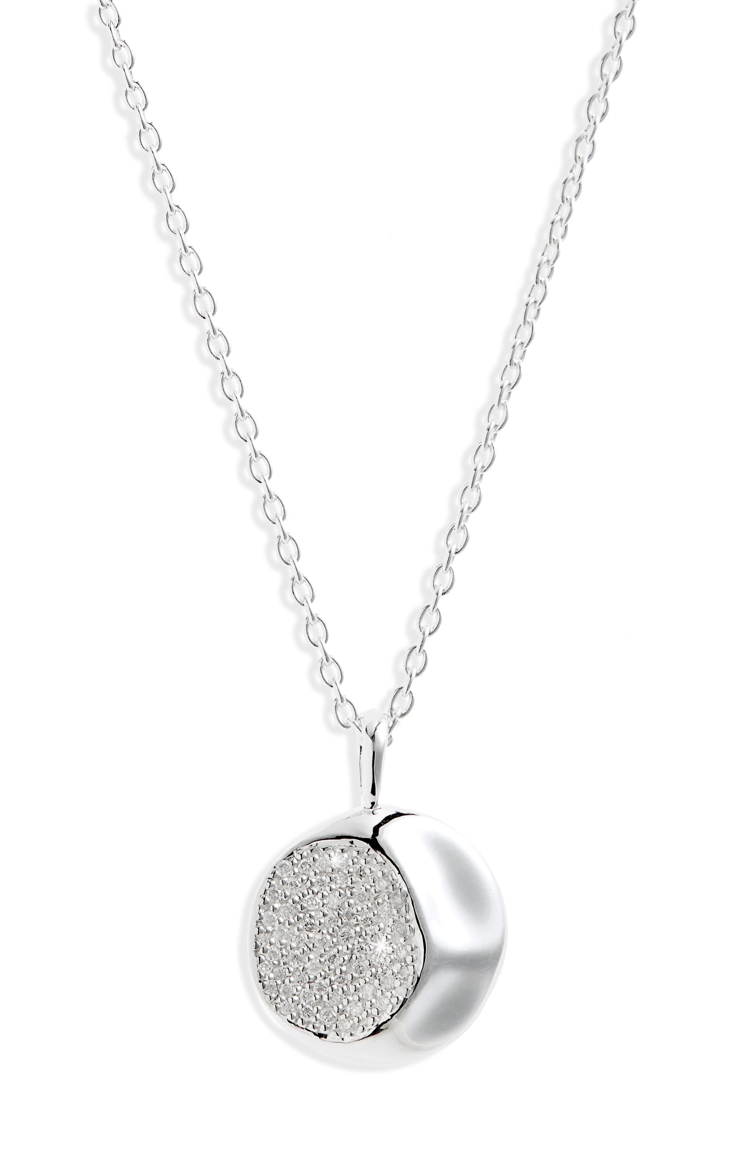 Ippolita Onda Diamond Pendant Necklace