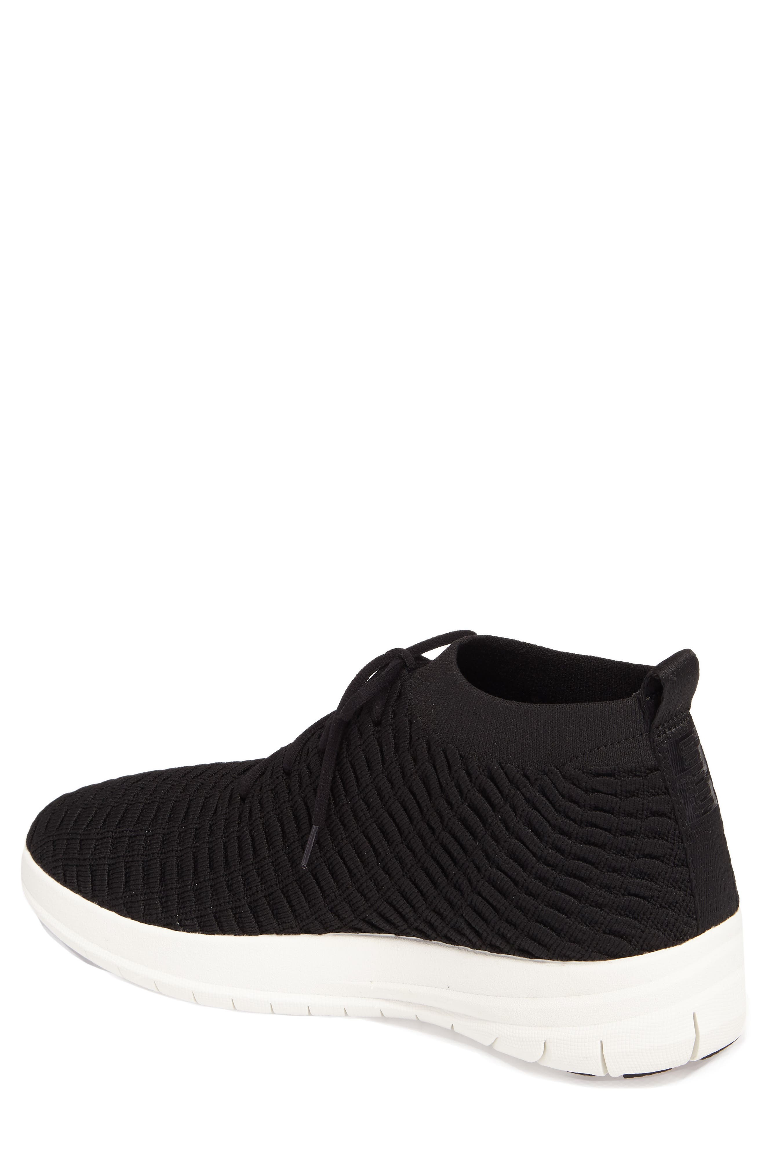 Uberknit Sneaker,                             Alternate thumbnail 2, color,                             Black Textile