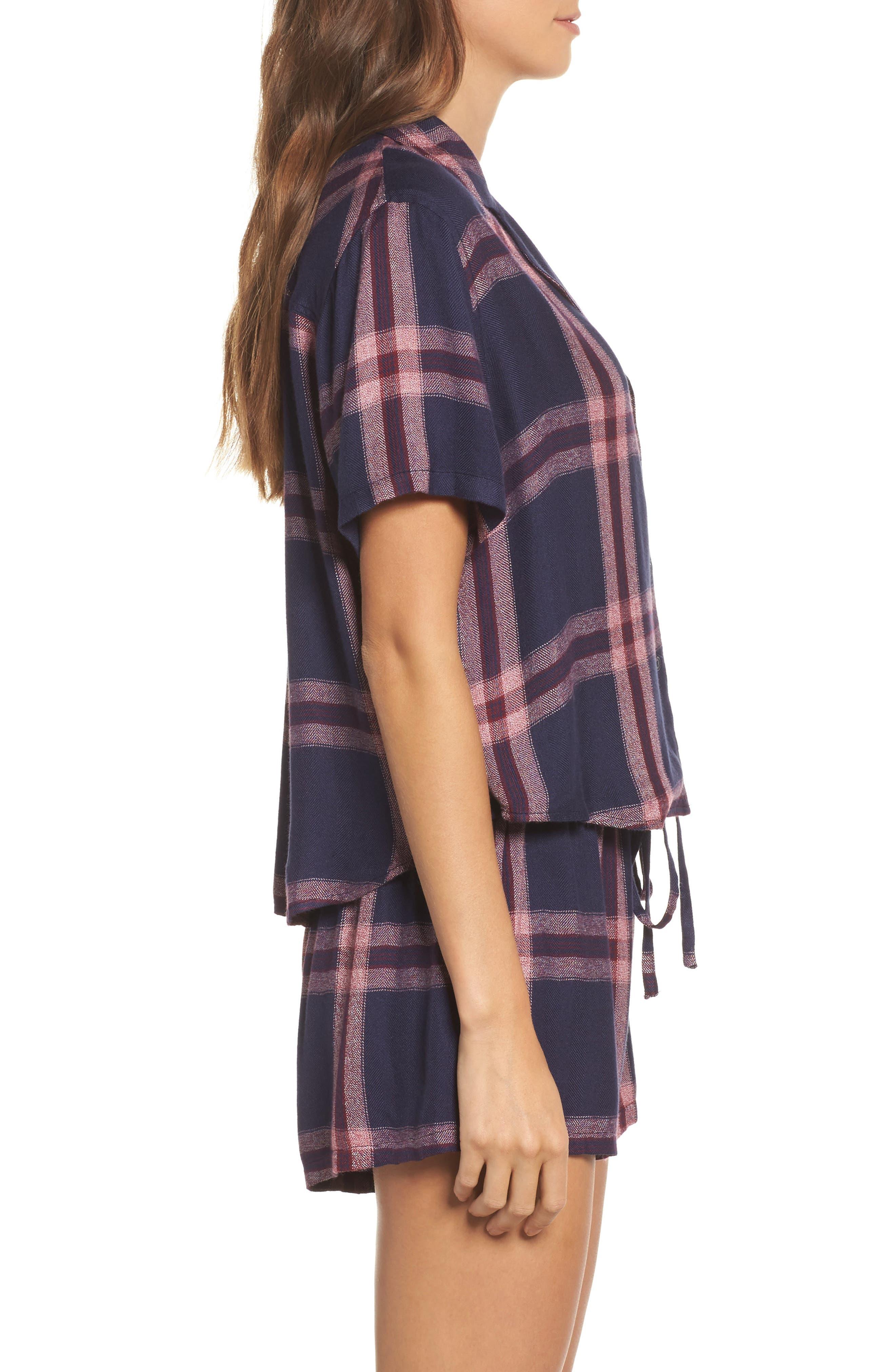Alternate Image 3  - Rails Plaid Short Pajamas