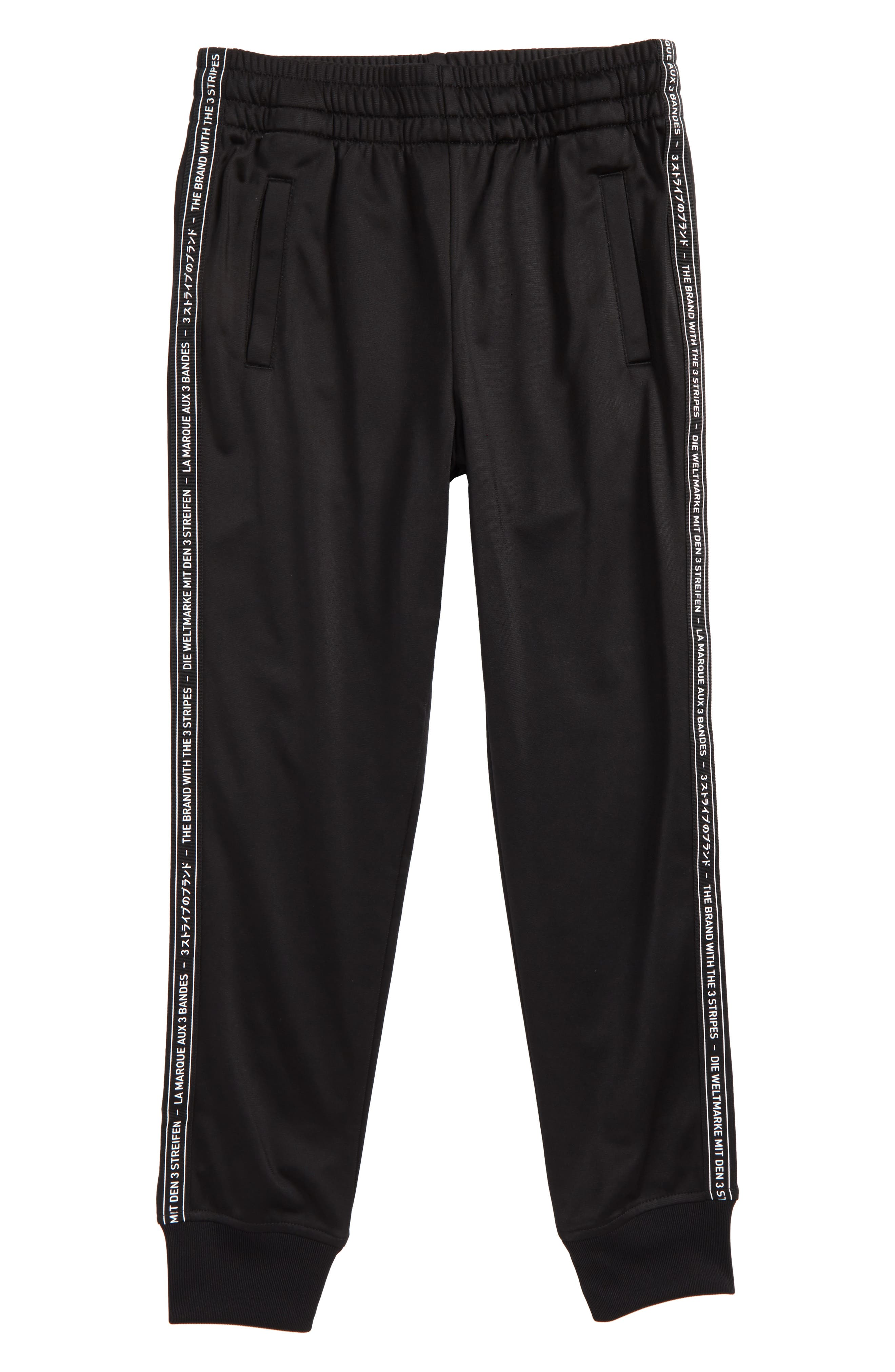 Alternate Image 1 Selected - adidas Originals Superstar Tiro Track Pants (Little Boys & Big Boys)
