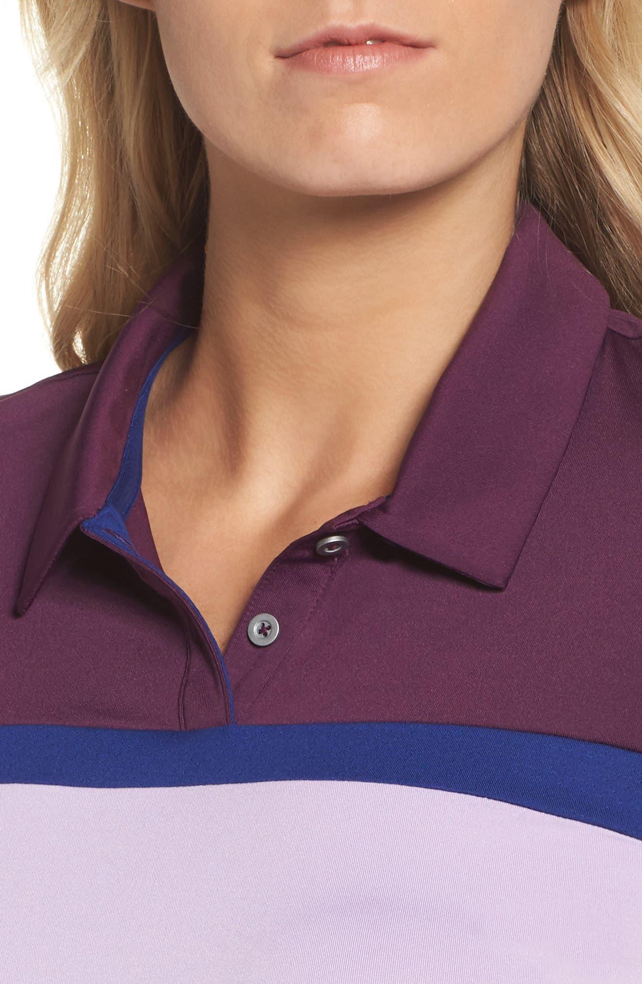 Alternate Image 4  - adidas Colorblock Polo