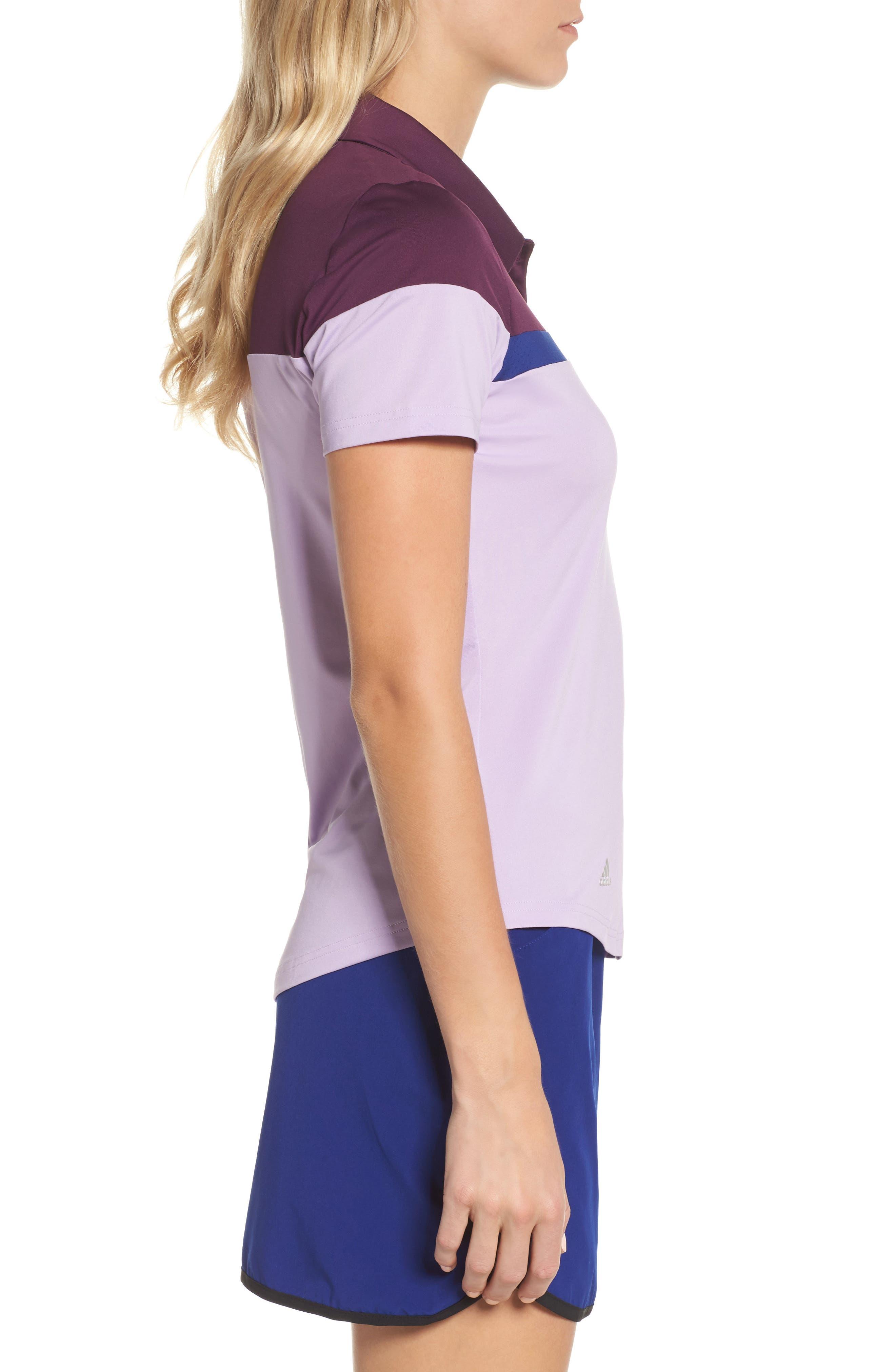 Alternate Image 3  - adidas Colorblock Polo