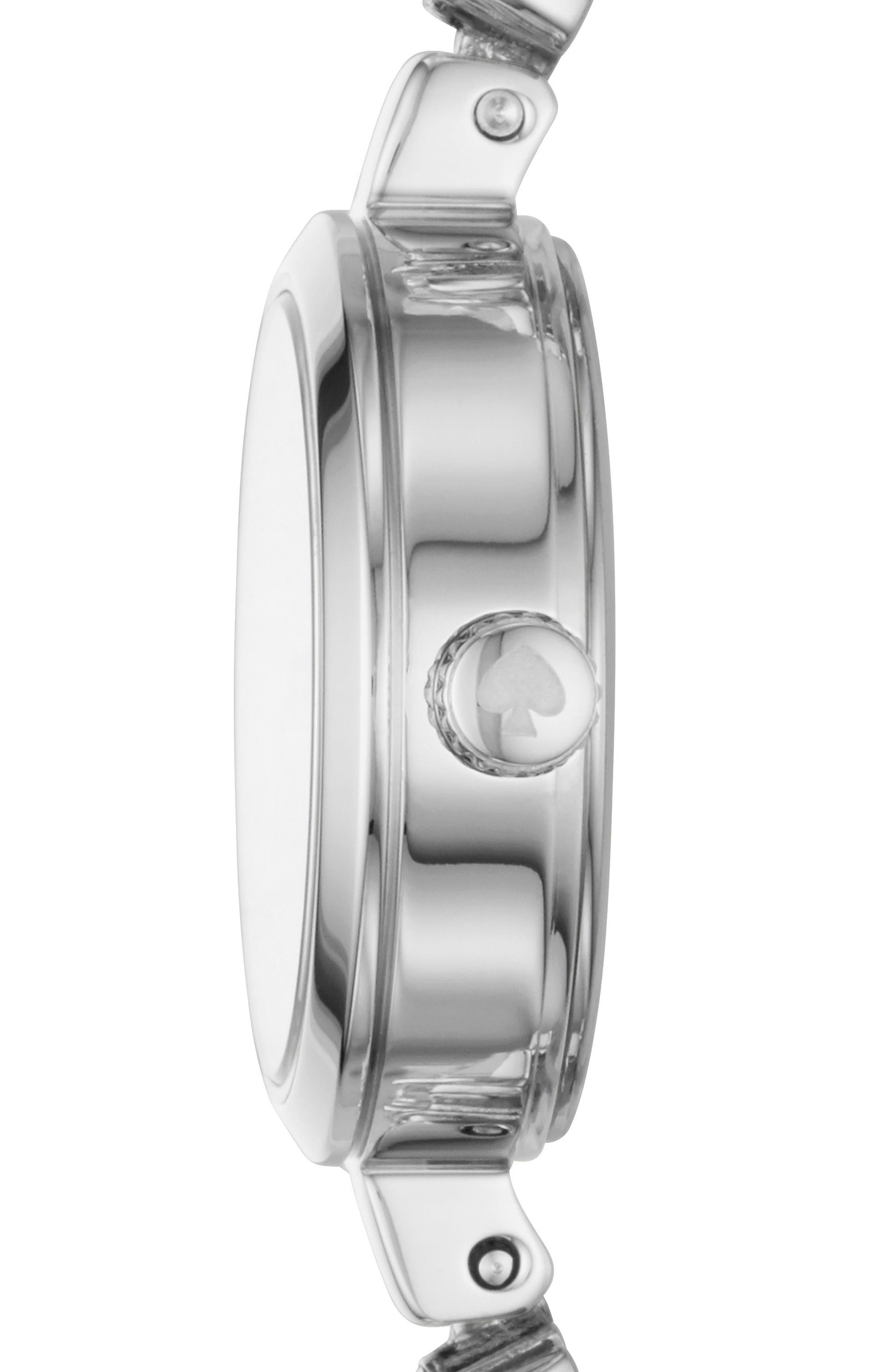 star mini gramercy bracelet watch, 20mm,                             Alternate thumbnail 2, color,                             Silver/ Mop/ Silver