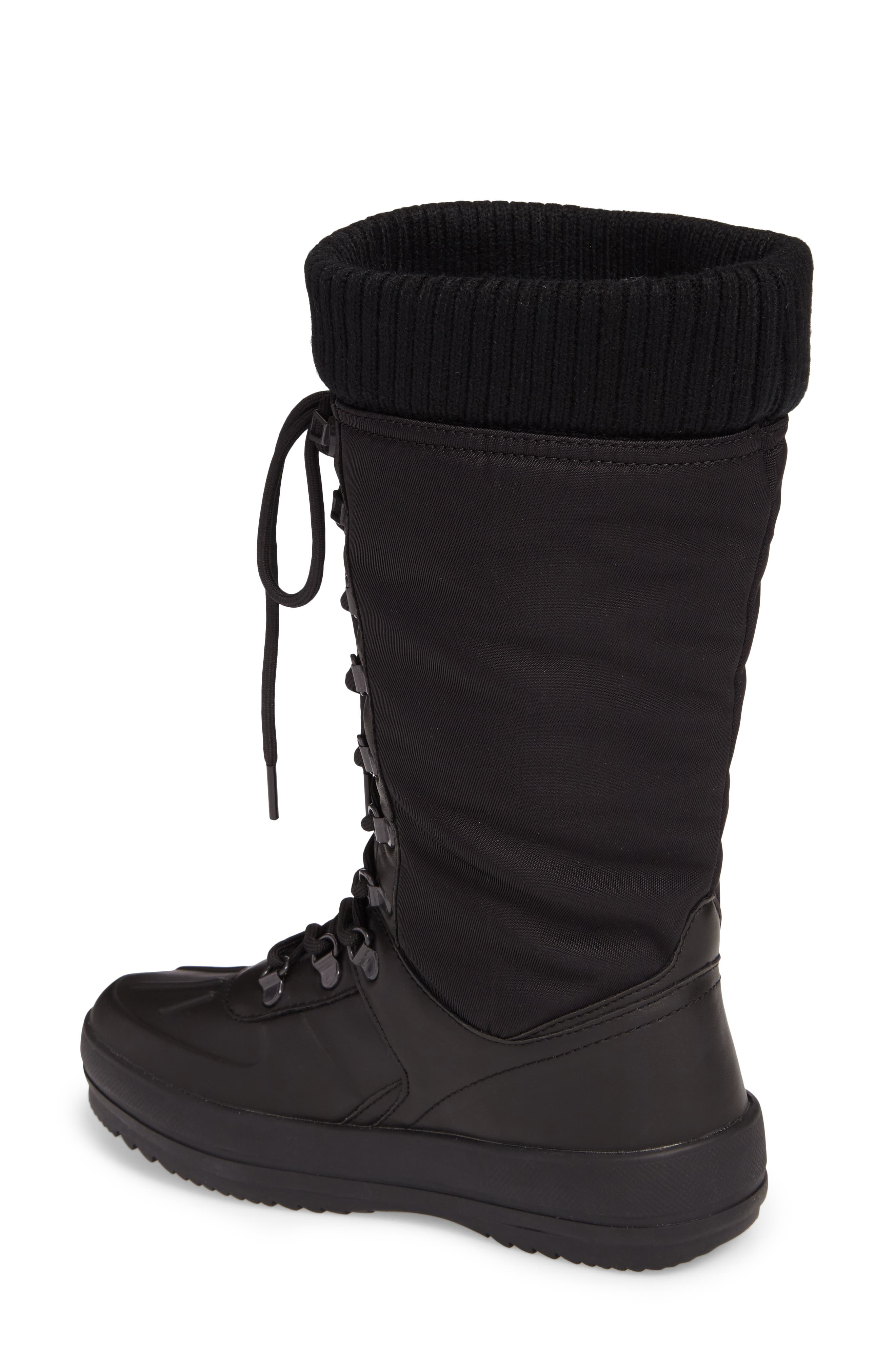Vancouver Waterproof Winter Boot,                             Alternate thumbnail 2, color,                             Black All Over