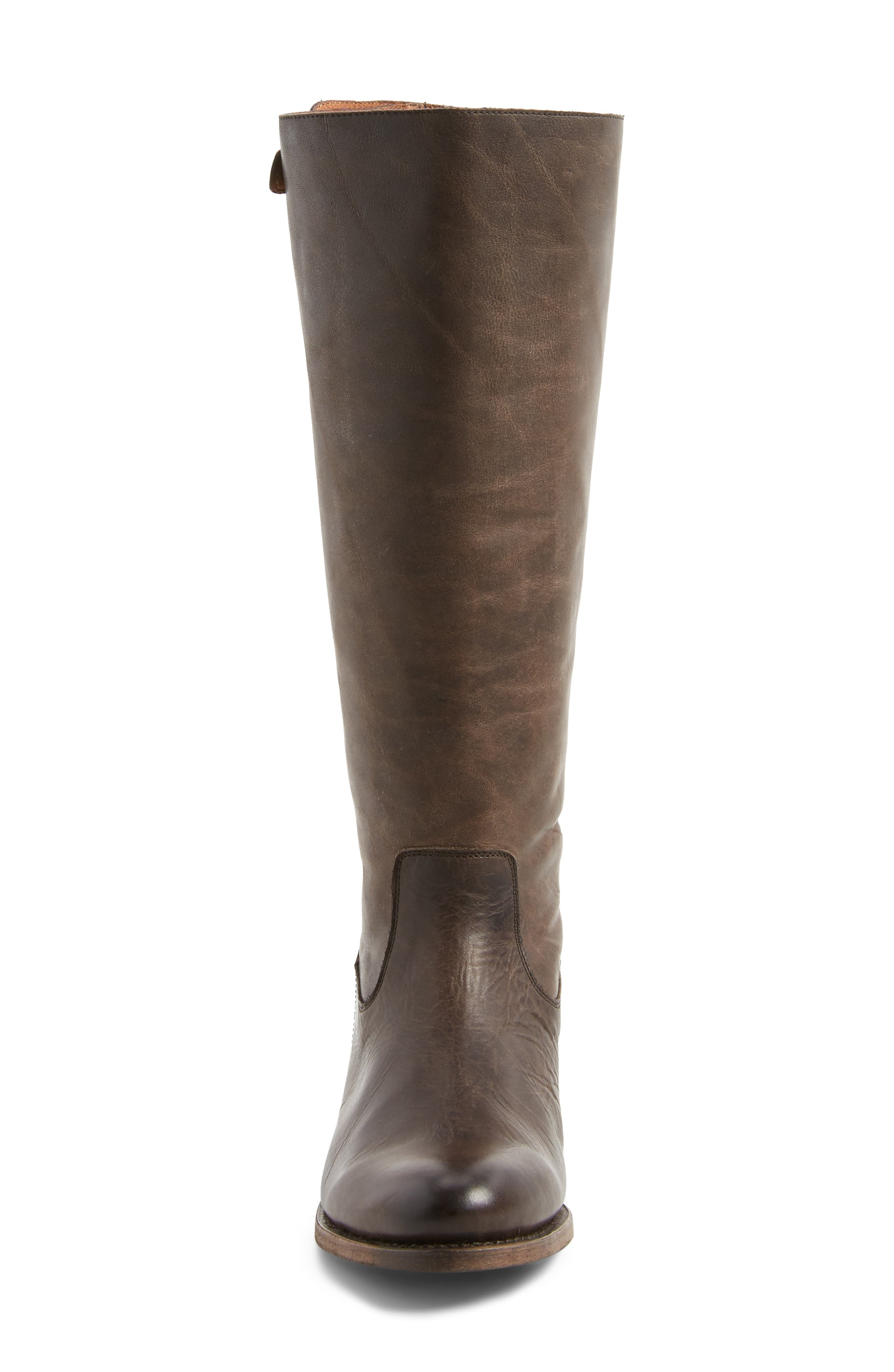 Alternate Image 4  - Frye Jayden Buckle Back Zip Boot (Women) (Regular & Extended Calf)