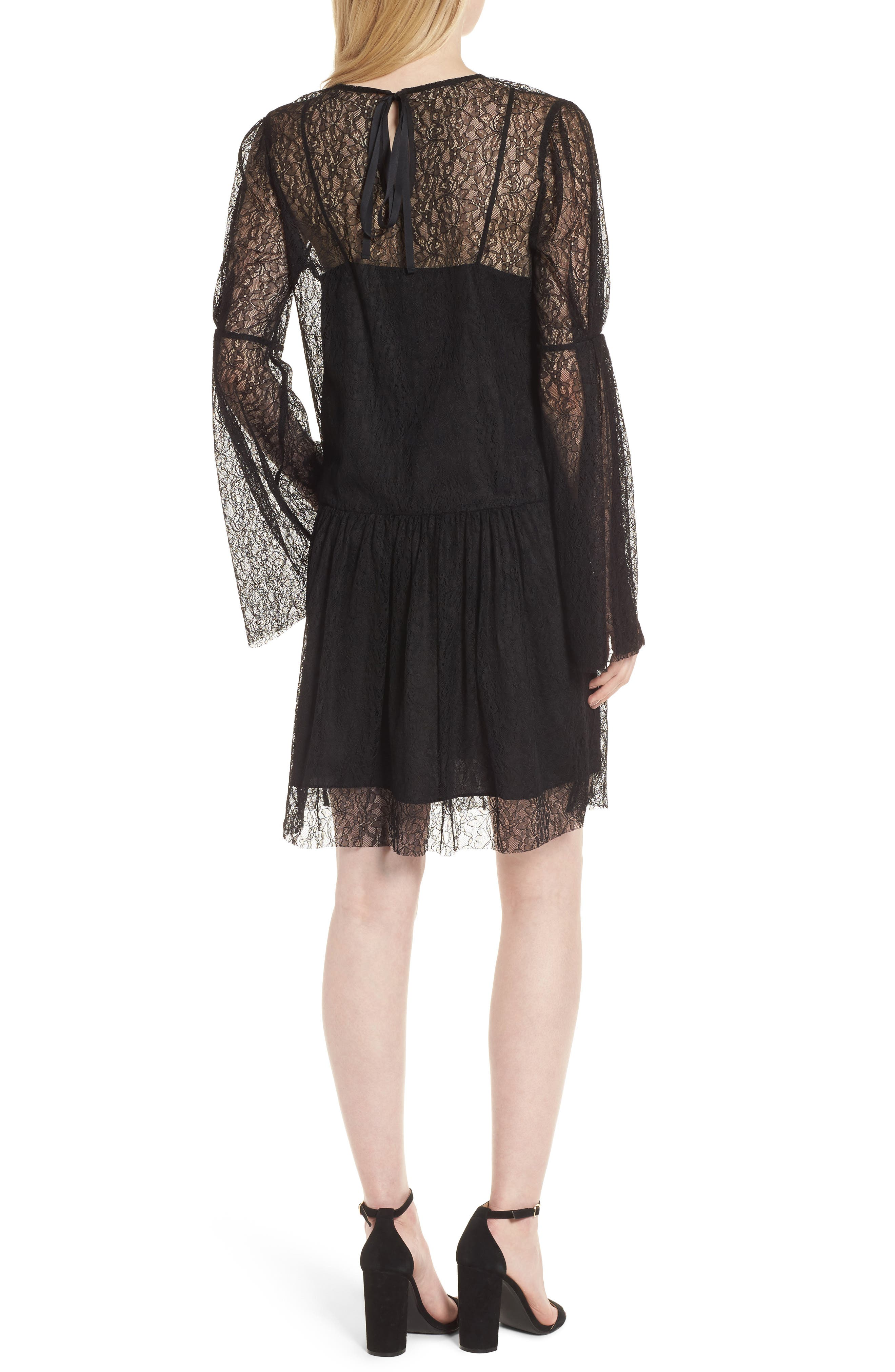 Alternate Image 2  - Chelsea28 Lace Dress