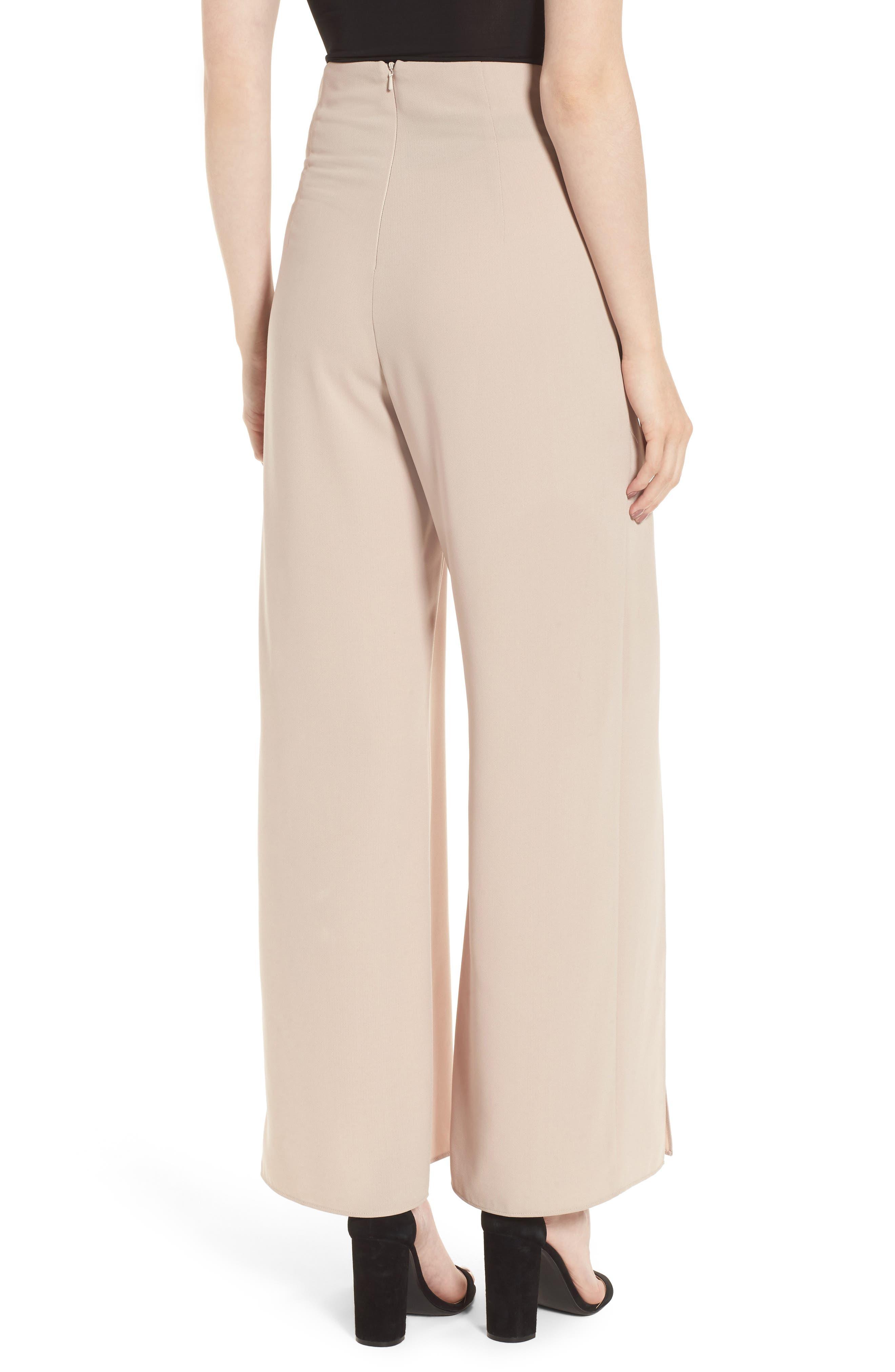 Alternate Image 2  - Bardot Corset Wide Leg Trousers
