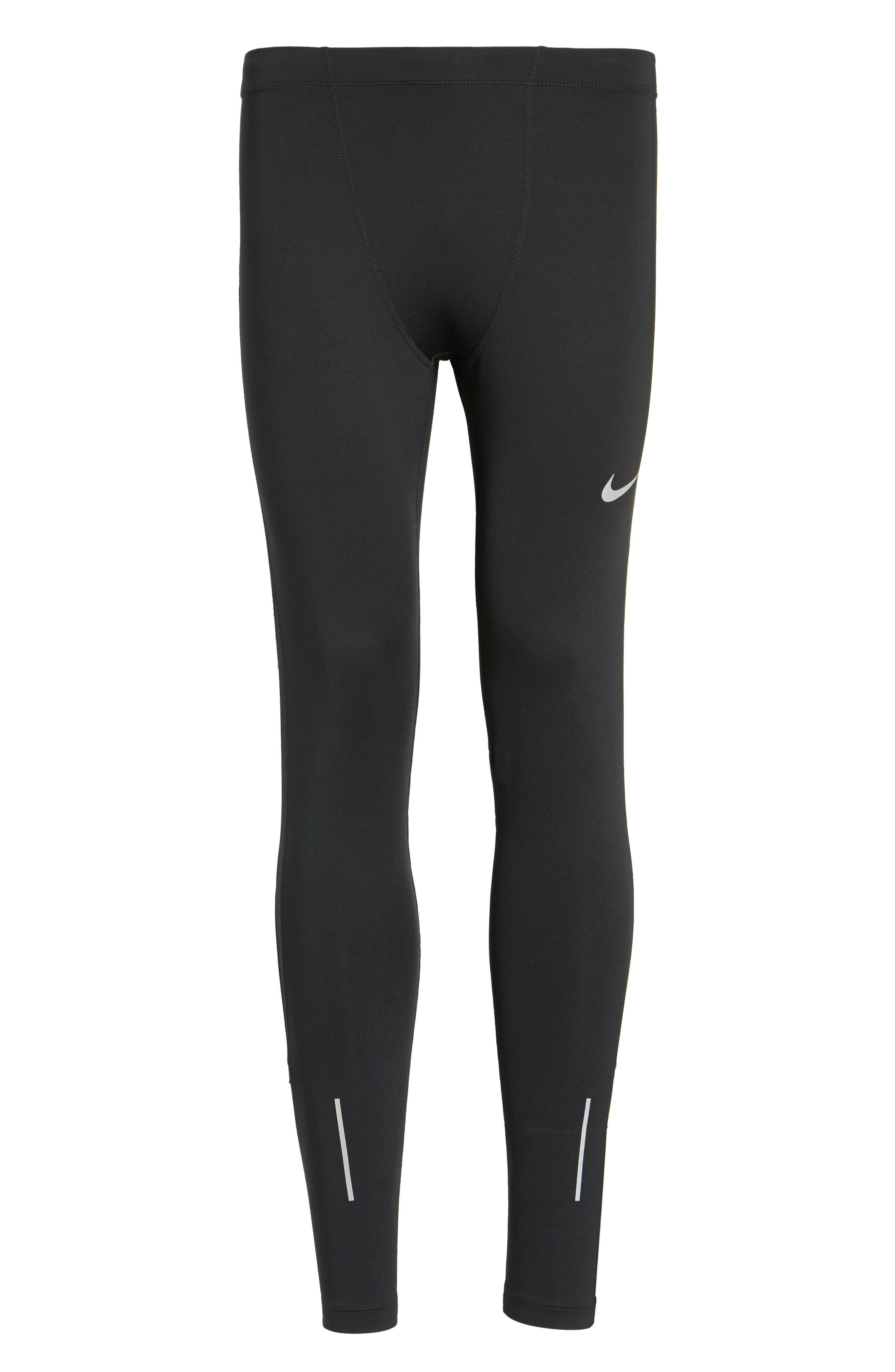 Therma Dry Running Tights,                             Alternate thumbnail 6, color,                             Black