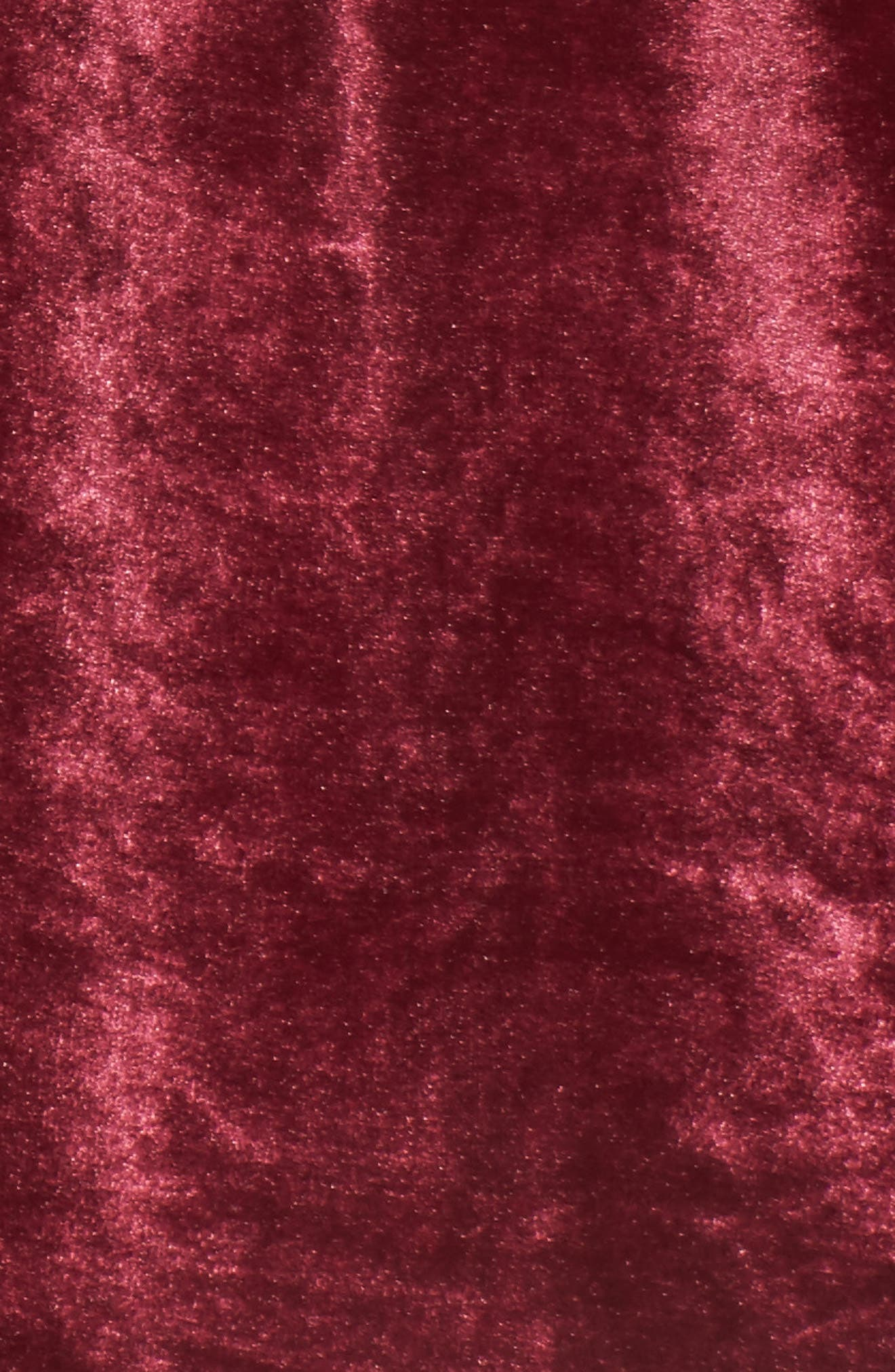 Velvacious Dress,                             Alternate thumbnail 6, color,                             Burgundy