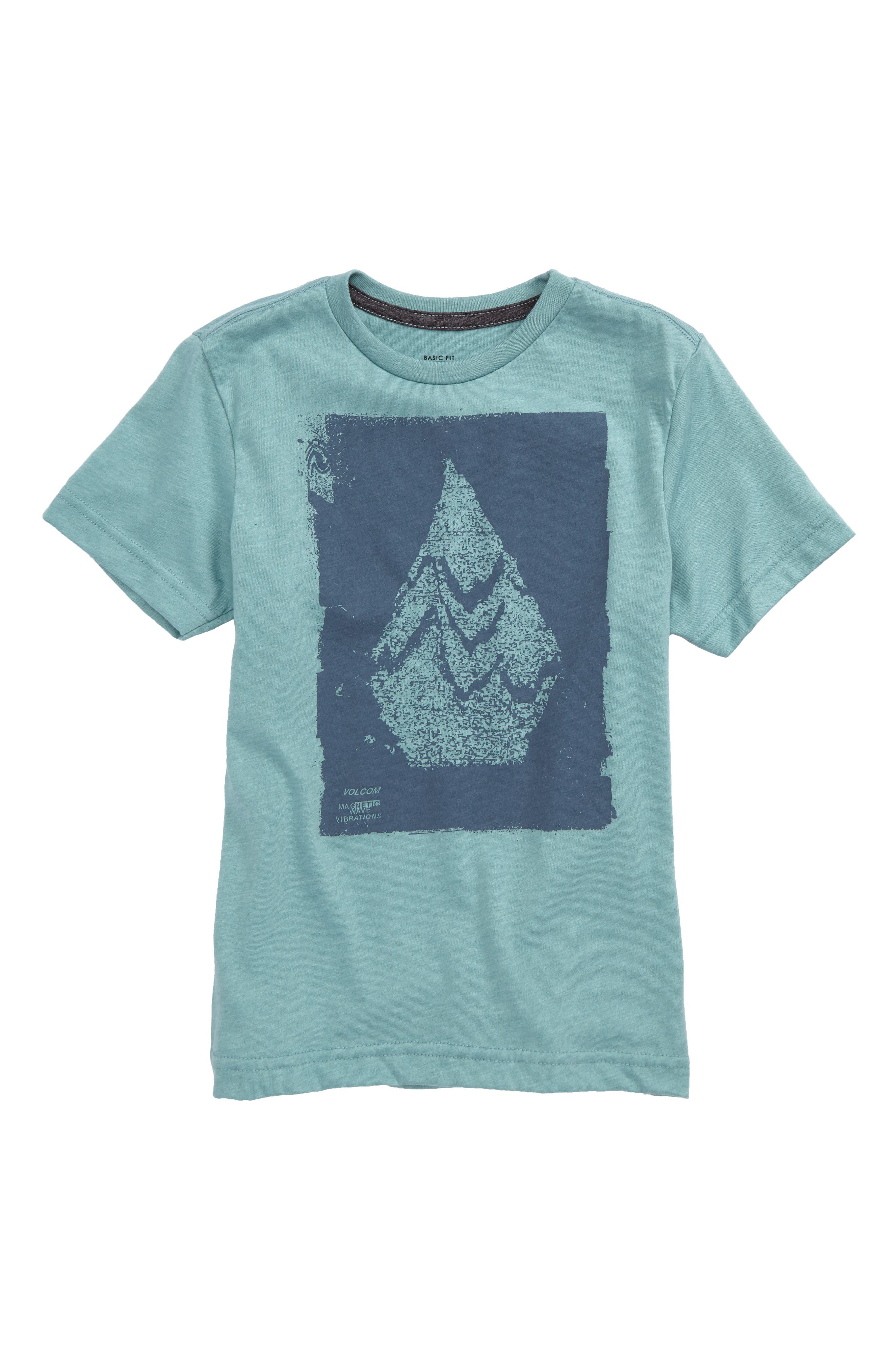 Disruption Graphic Shirt,                         Main,                         color, Sea Blue
