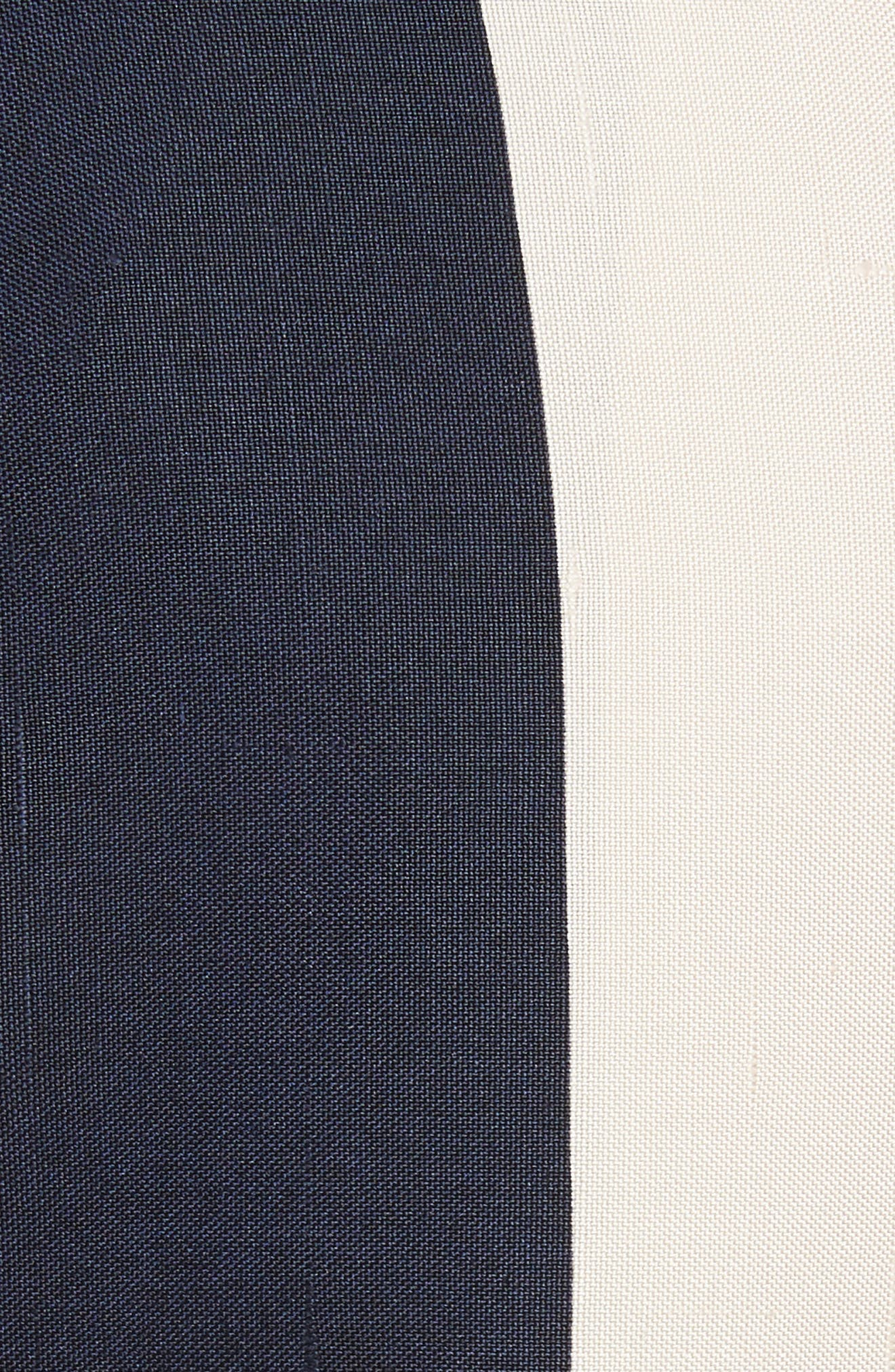 Alternate Image 6  - Calvin Klein 205W39NYC Flag Stripe Silk Shantung Drape Skirt