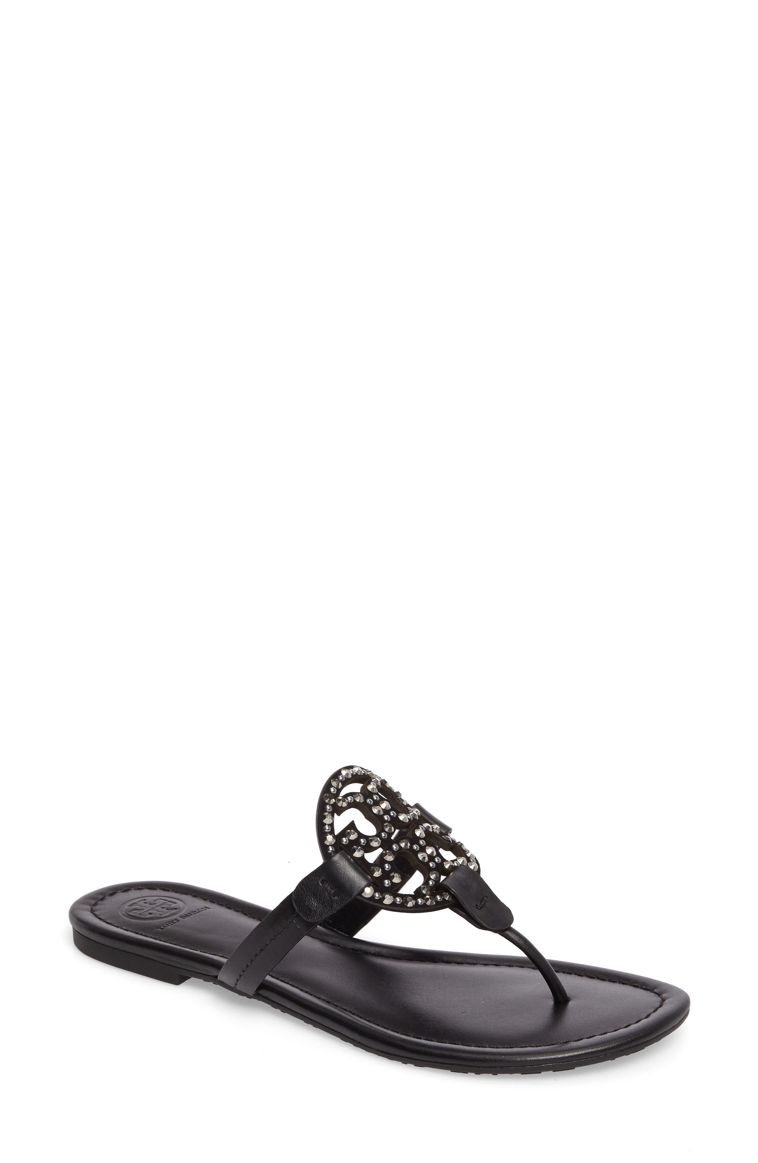 Tory Burch Miller Embellished Sandal (Women)
