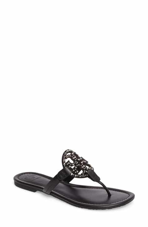 a0b96a3b4a98eb Tory Burch Miller Embellished Sandal (Women)