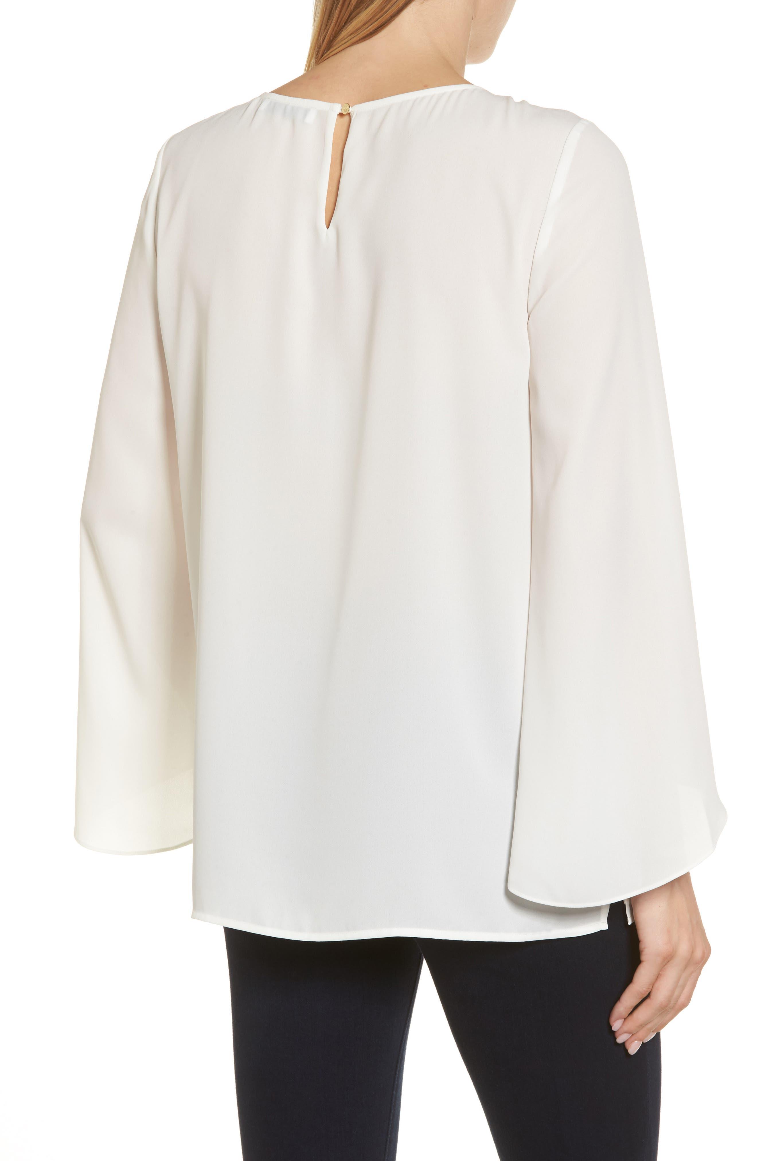 Alternate Image 2  - Chaus Studded Blouse