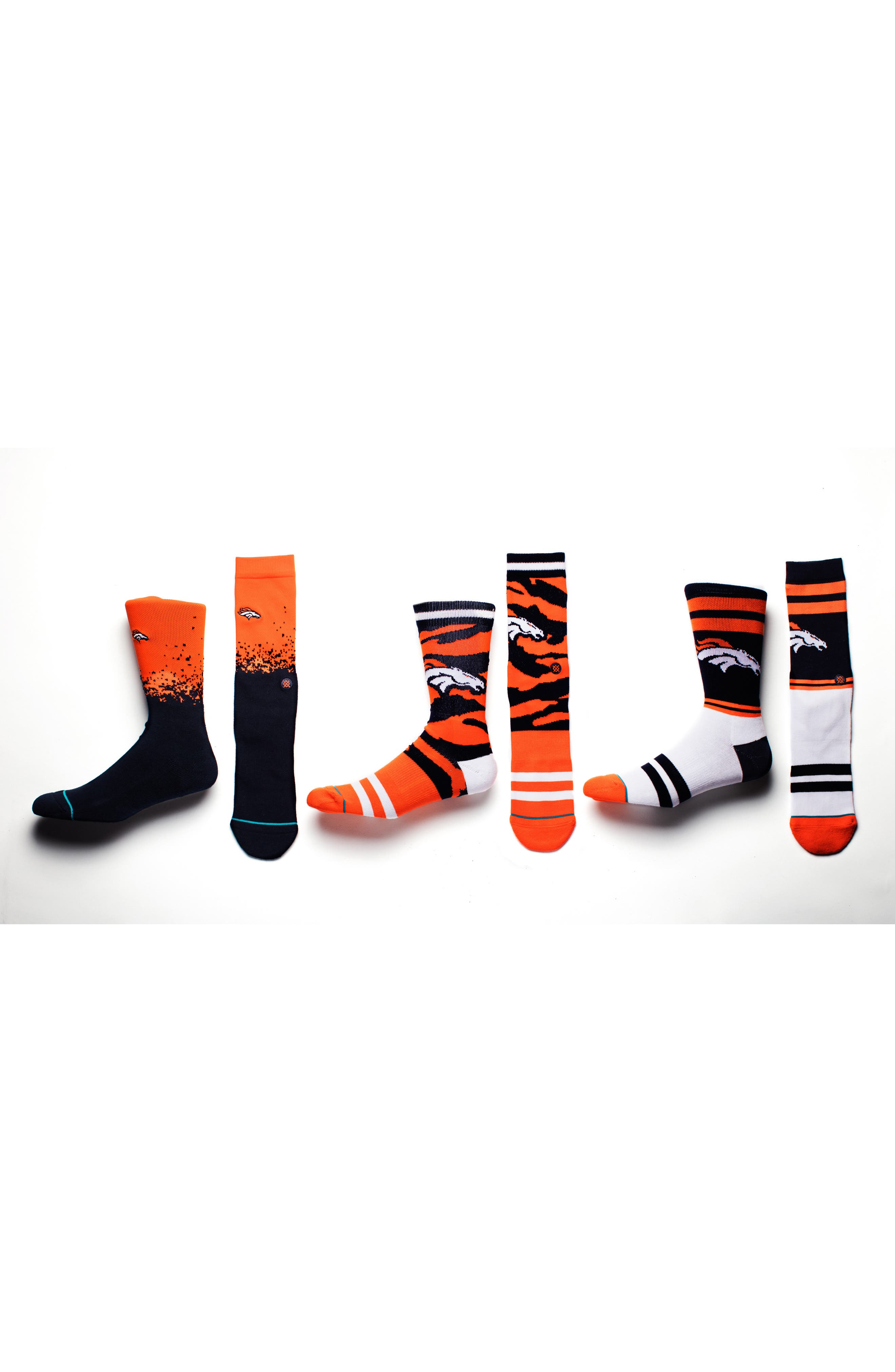 Alternate Image 5  - Stance Denver Broncos - Fade Socks