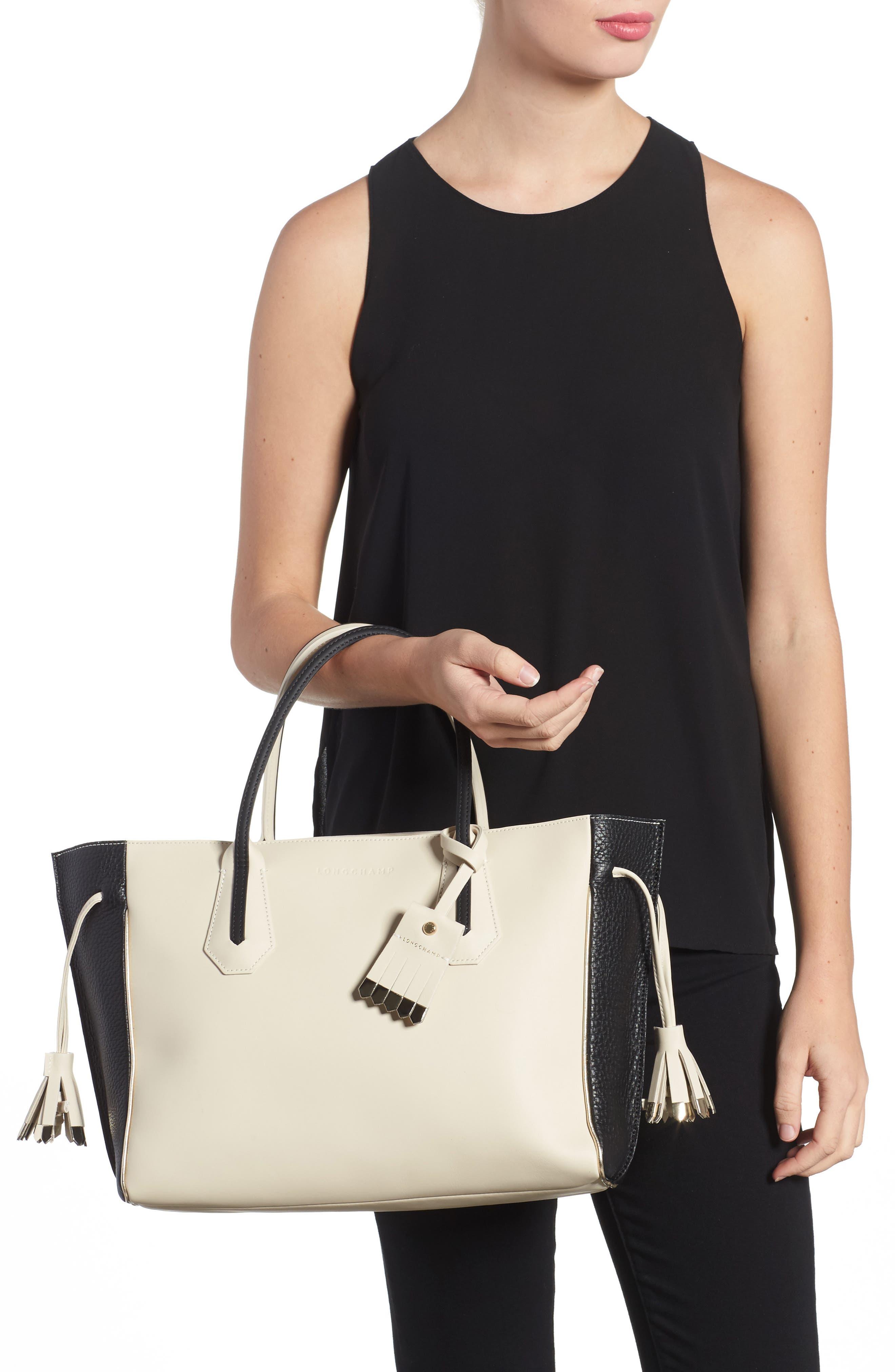 Alternate Image 2  - Longchamp Medium Penelope Fantasie Luxe Leather Tote