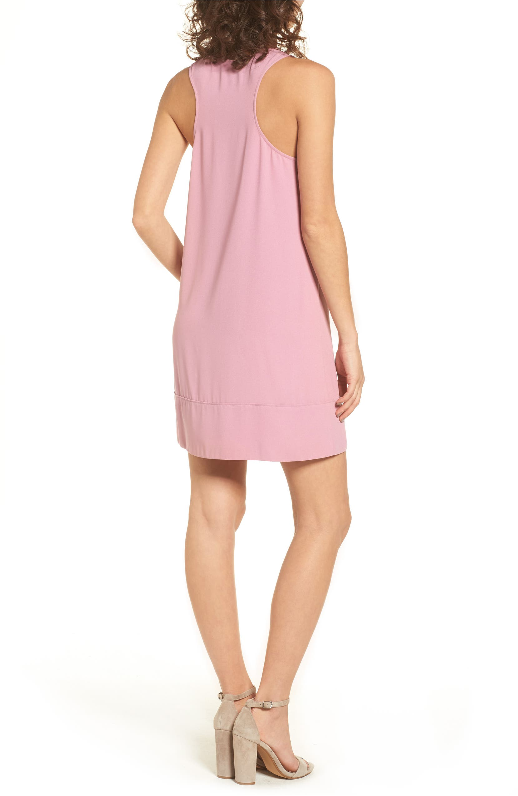 Racerback Shift Dress,                         Alternate,                         color, Purple Victoria