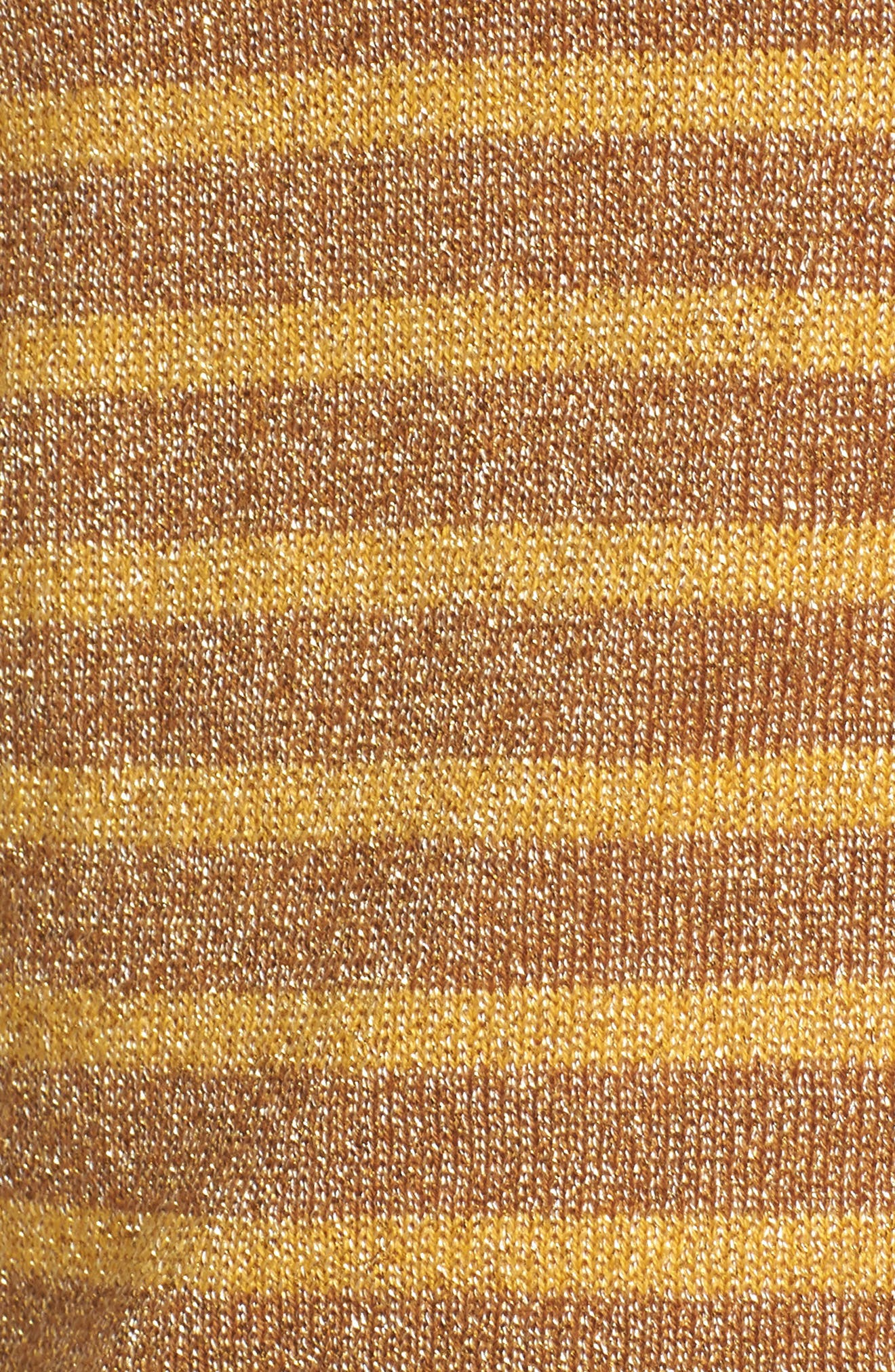 Sparkle Stripe Sweater,                             Alternate thumbnail 5, color,                             Yellow Mineral Combo