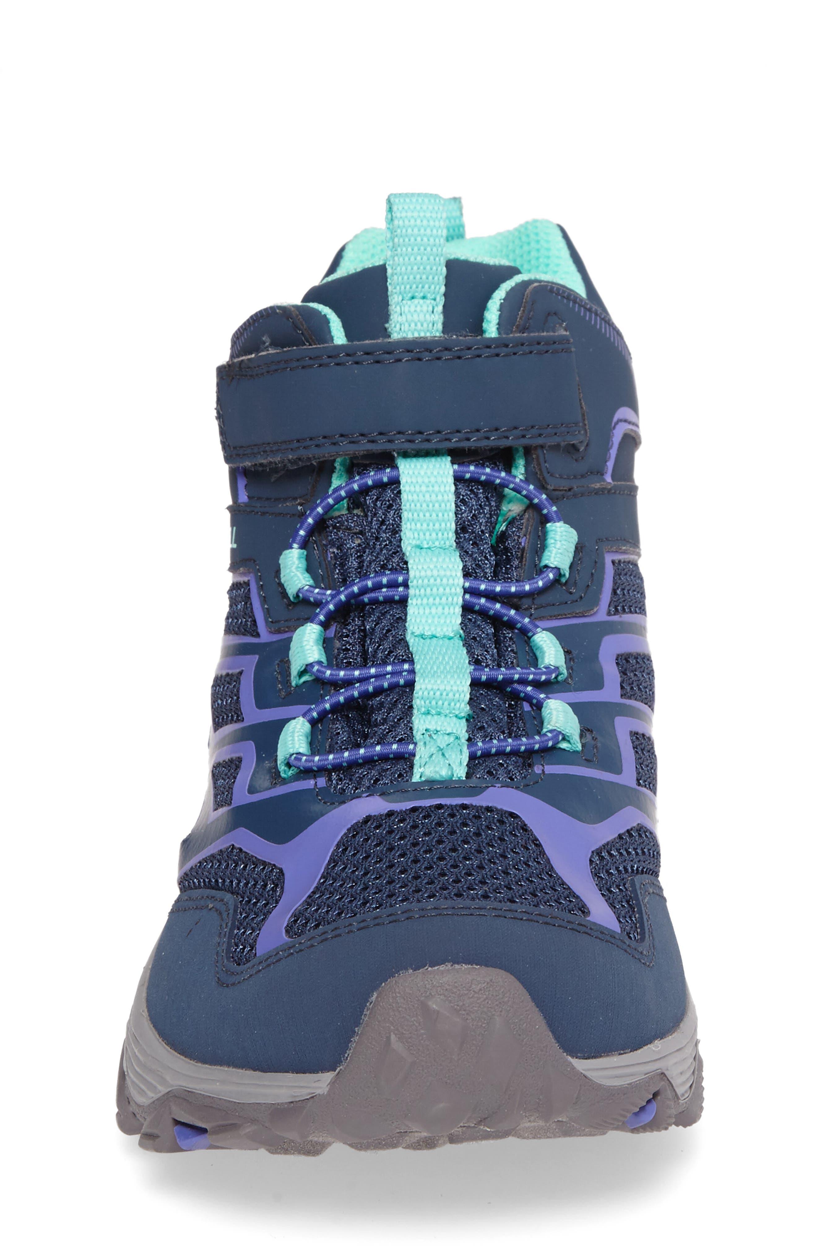 Alternate Image 4  - Merrell Moab FST Polar Mid Insulated Waterproof Sneaker Boot (Baby, Walker, Toddler, Little Kid & Big Kid)