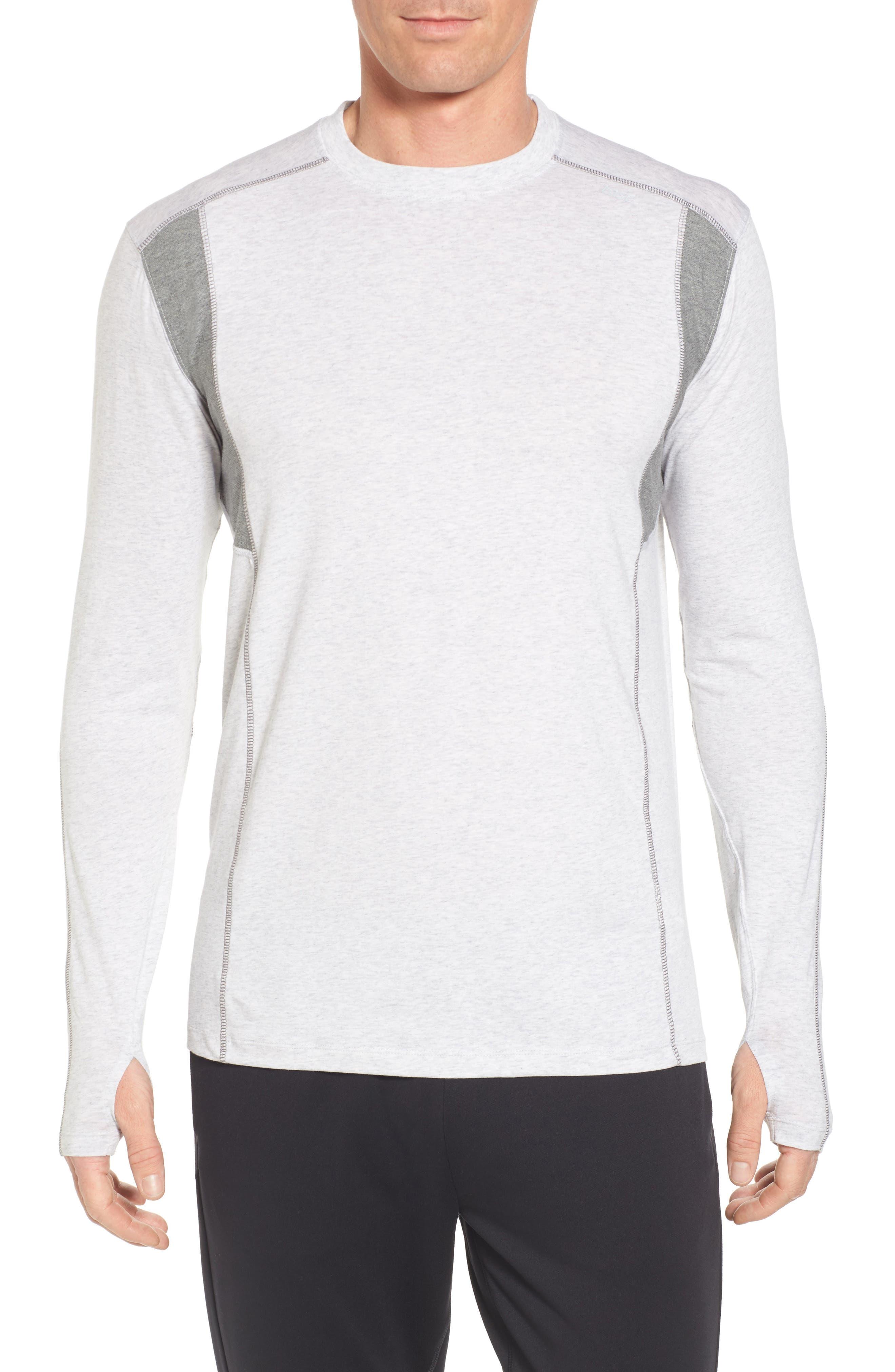 Charge Sweatshirt,                         Main,                         color, Light Heather Gray