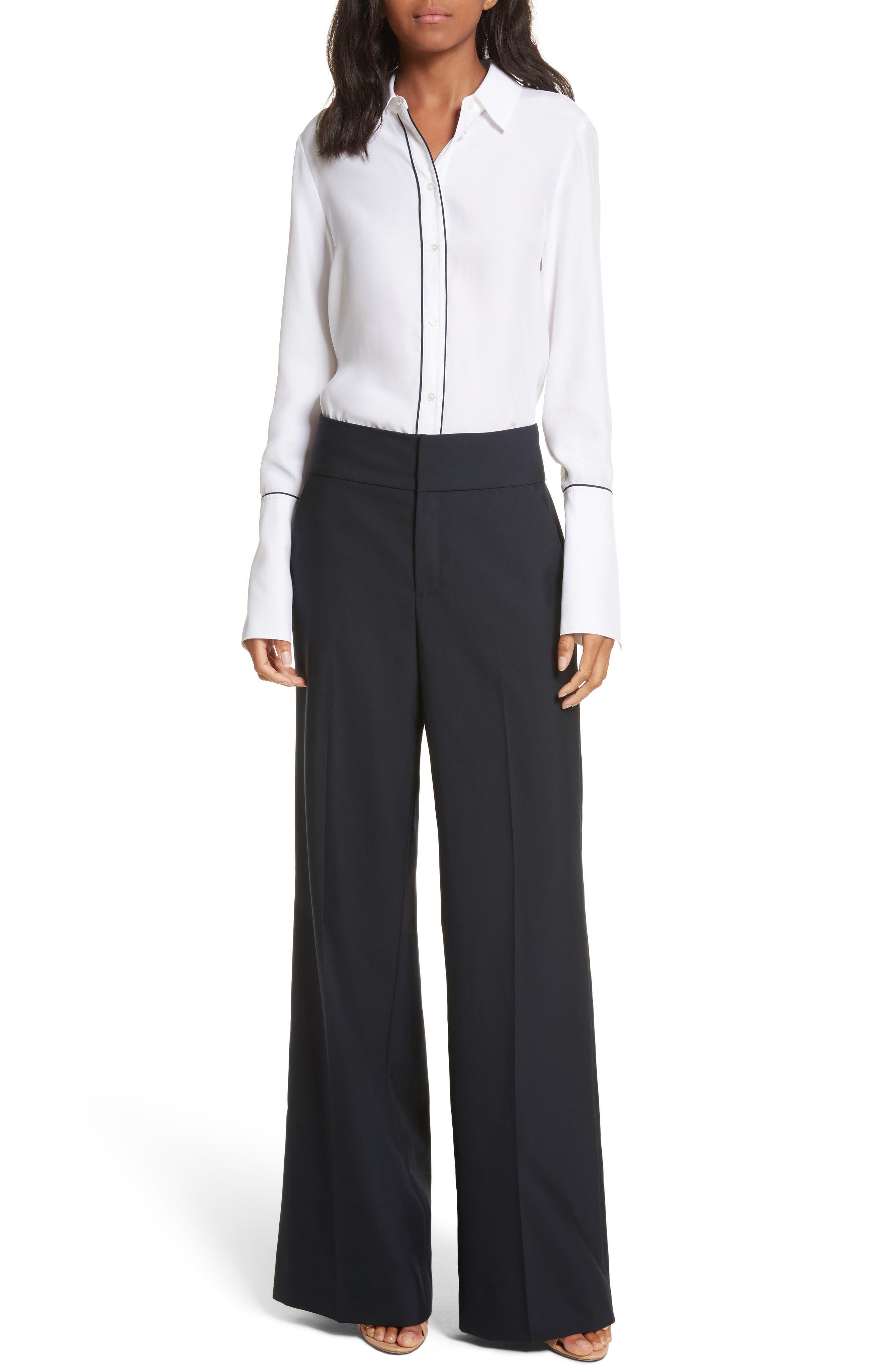 Alternate Image 2  - FRAME True Tux Wool Pants