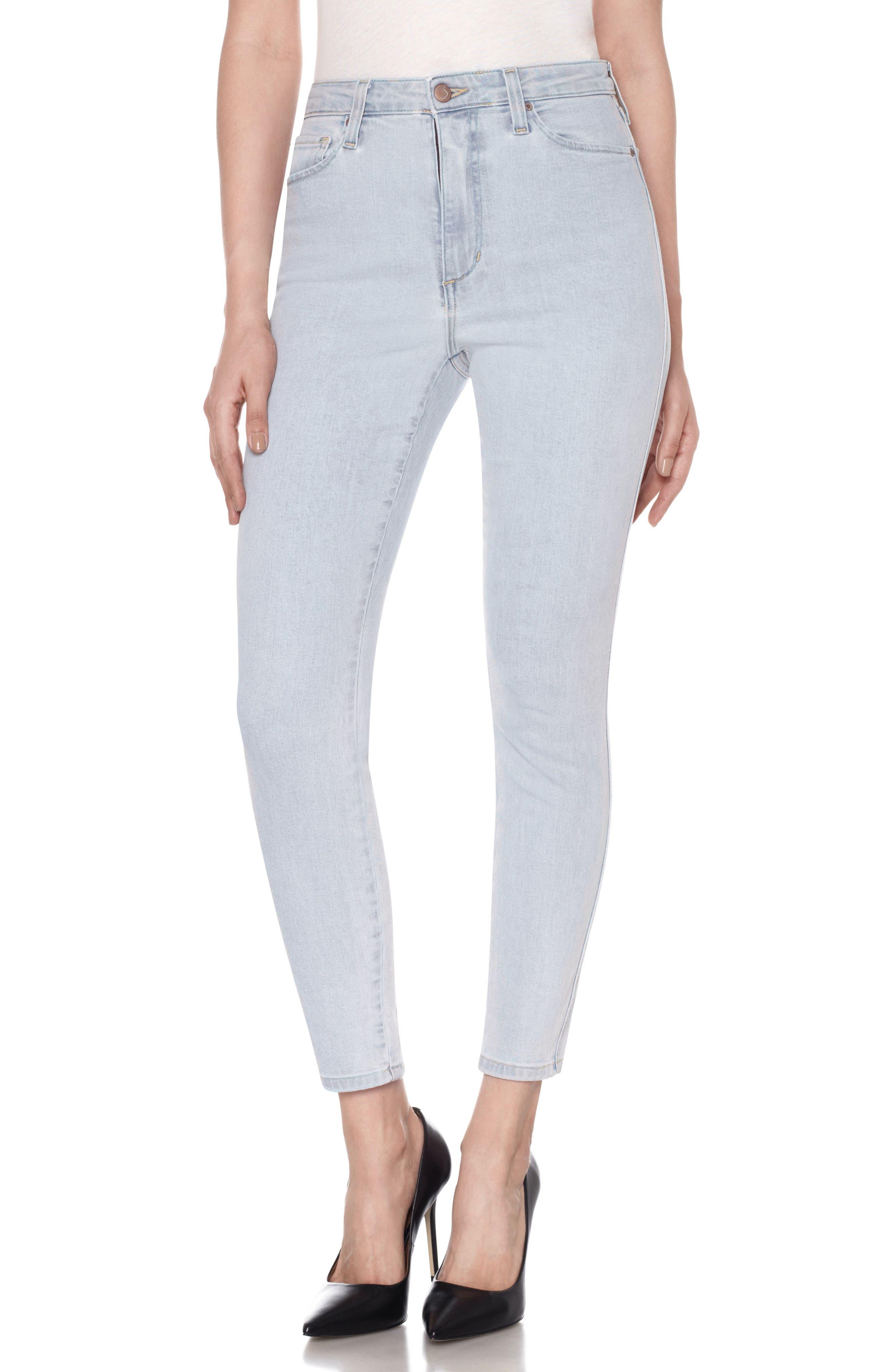 Main Image - Joe's Flawless - Bella High Waist Ankle Skinny Jeans (Amada)