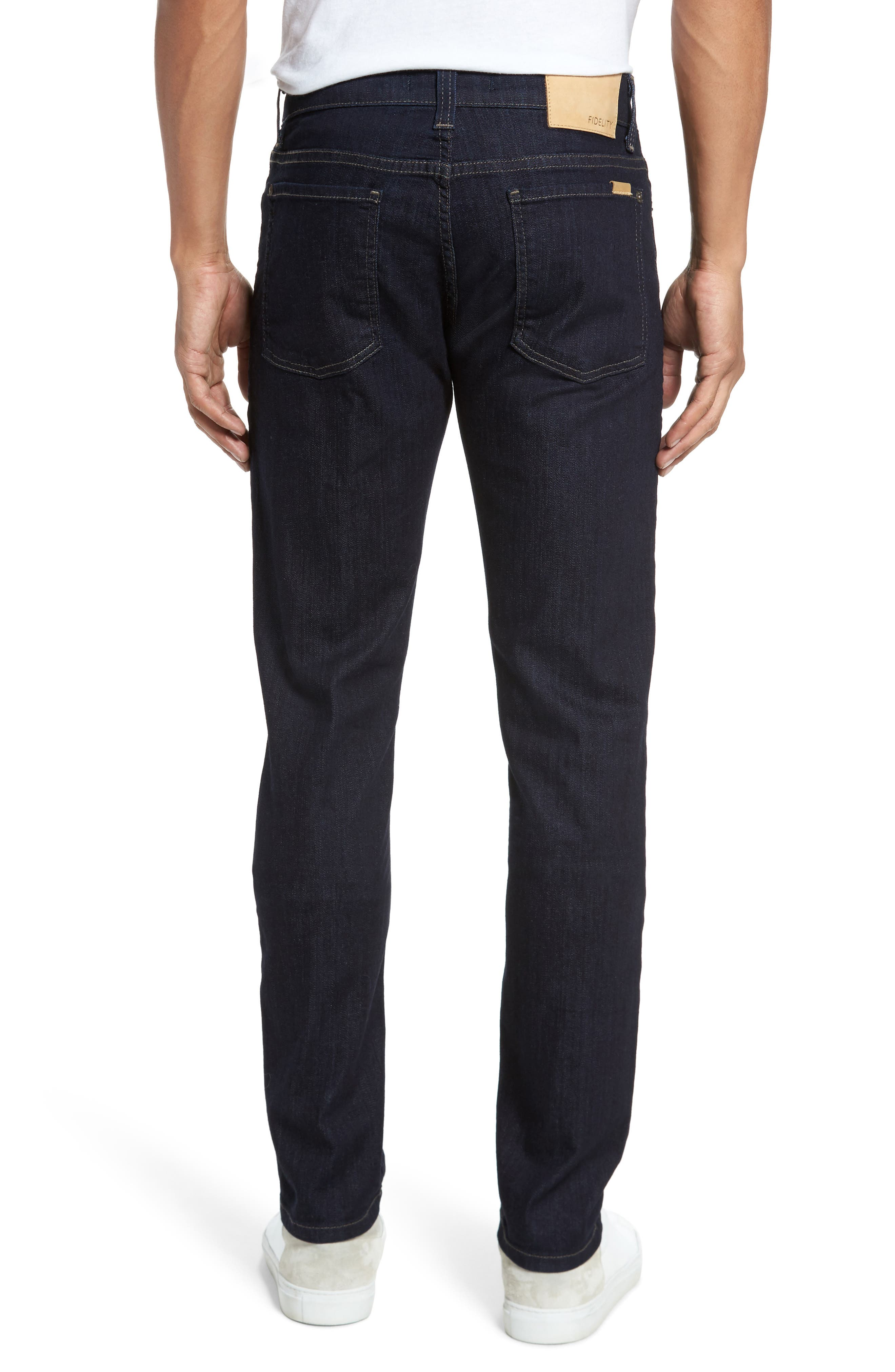 Slim Fit Jeans,                             Alternate thumbnail 2, color,                             Galaxy Rinse
