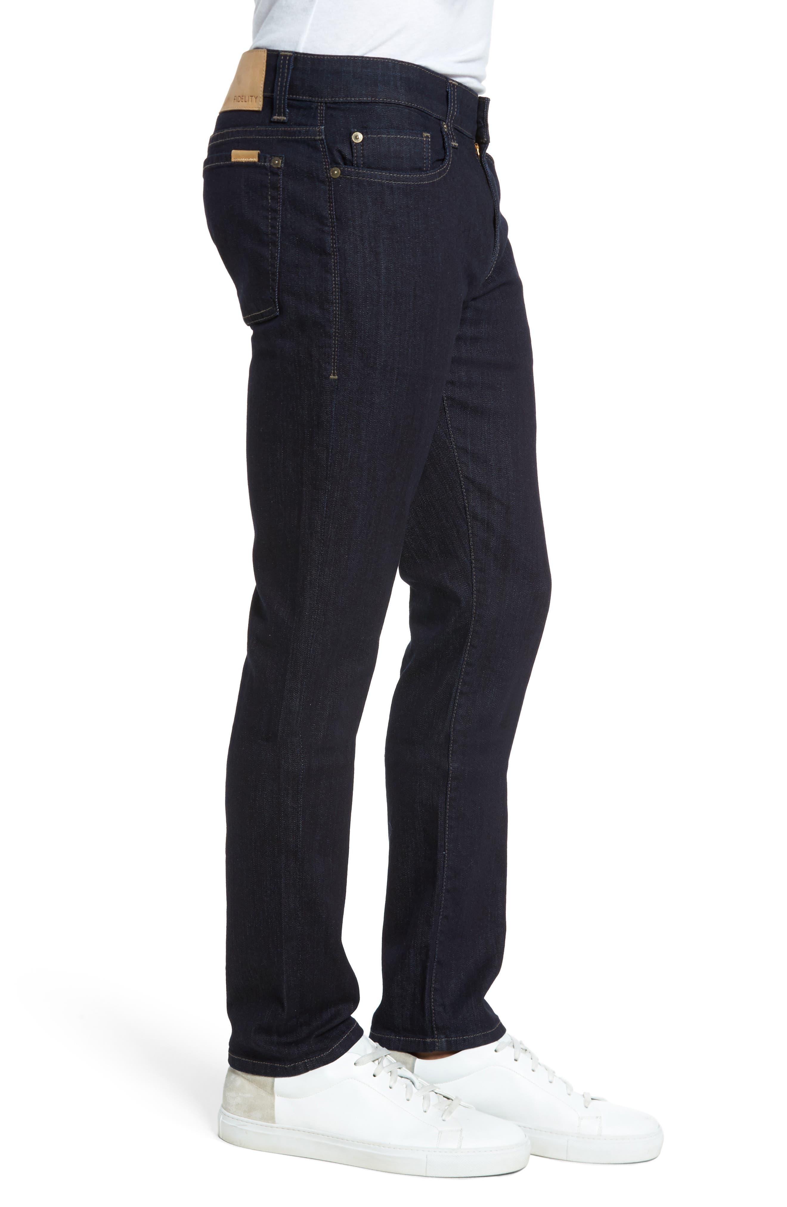 Alternate Image 3  - Fidelity Denim Slim Fit Jeans (Galaxy)