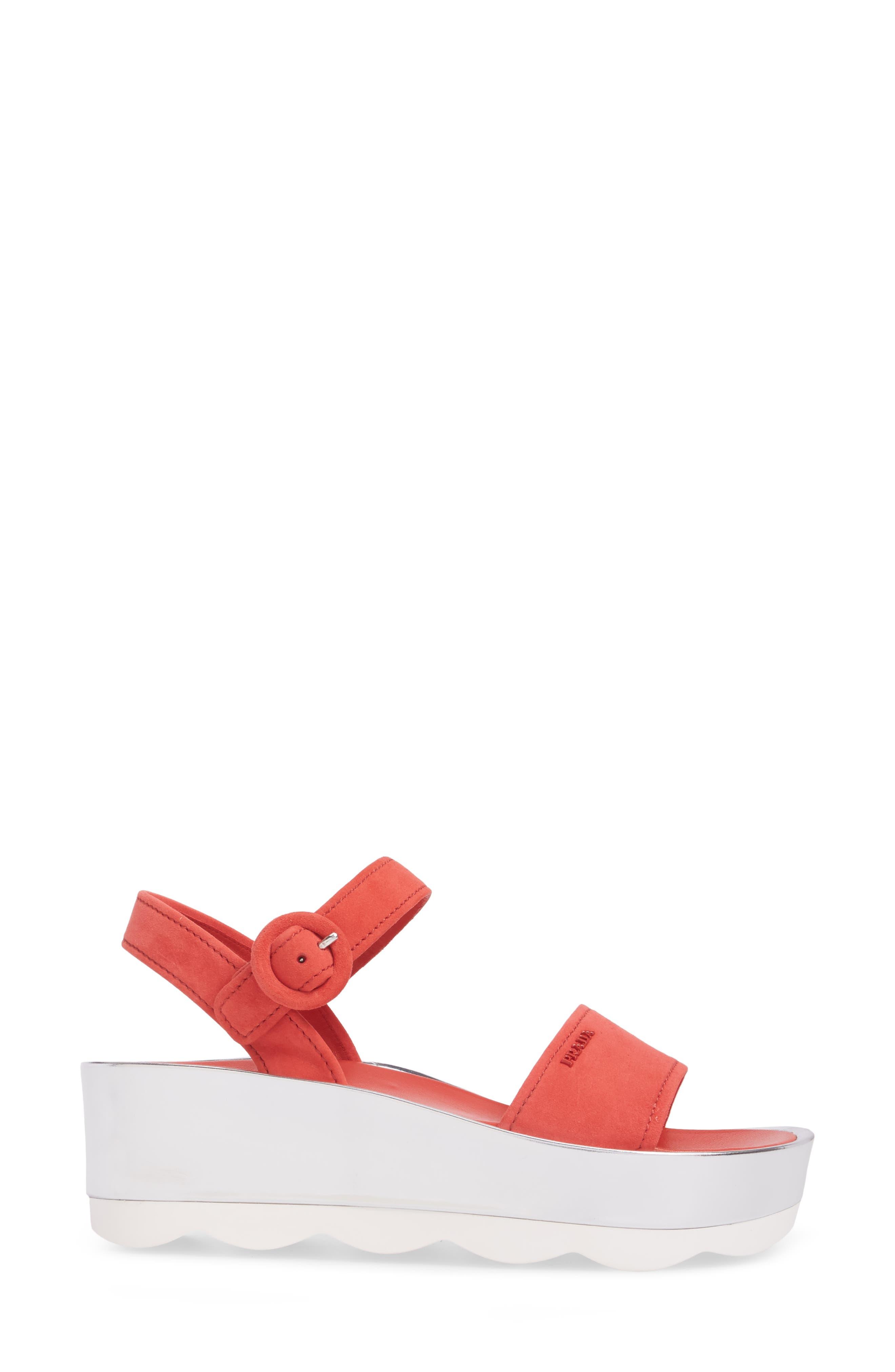 Alternate Image 3  - Prada Platform Sandal (Women)