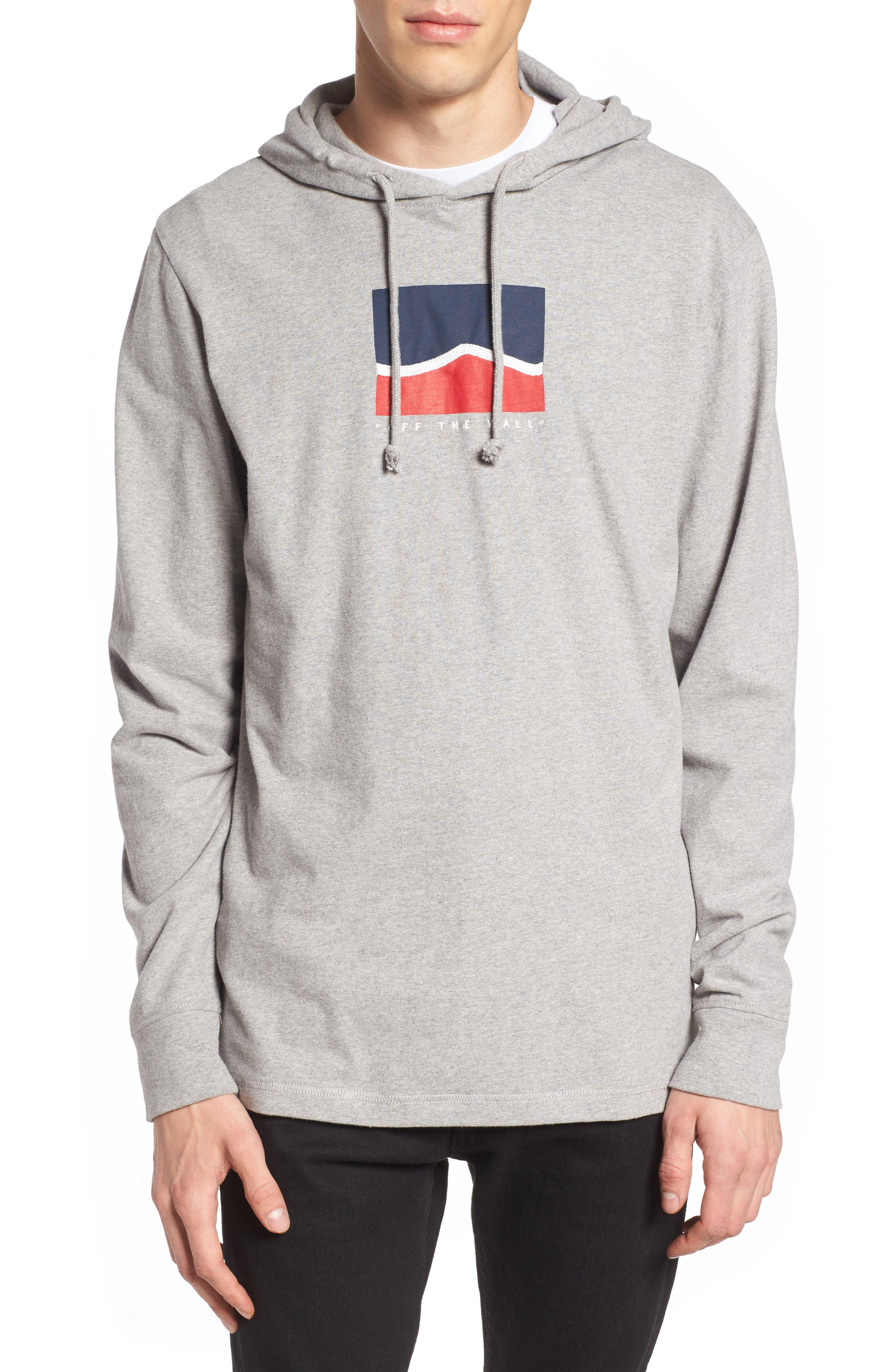 Vans Short Stack Graphic Hoodie Sweatshirt