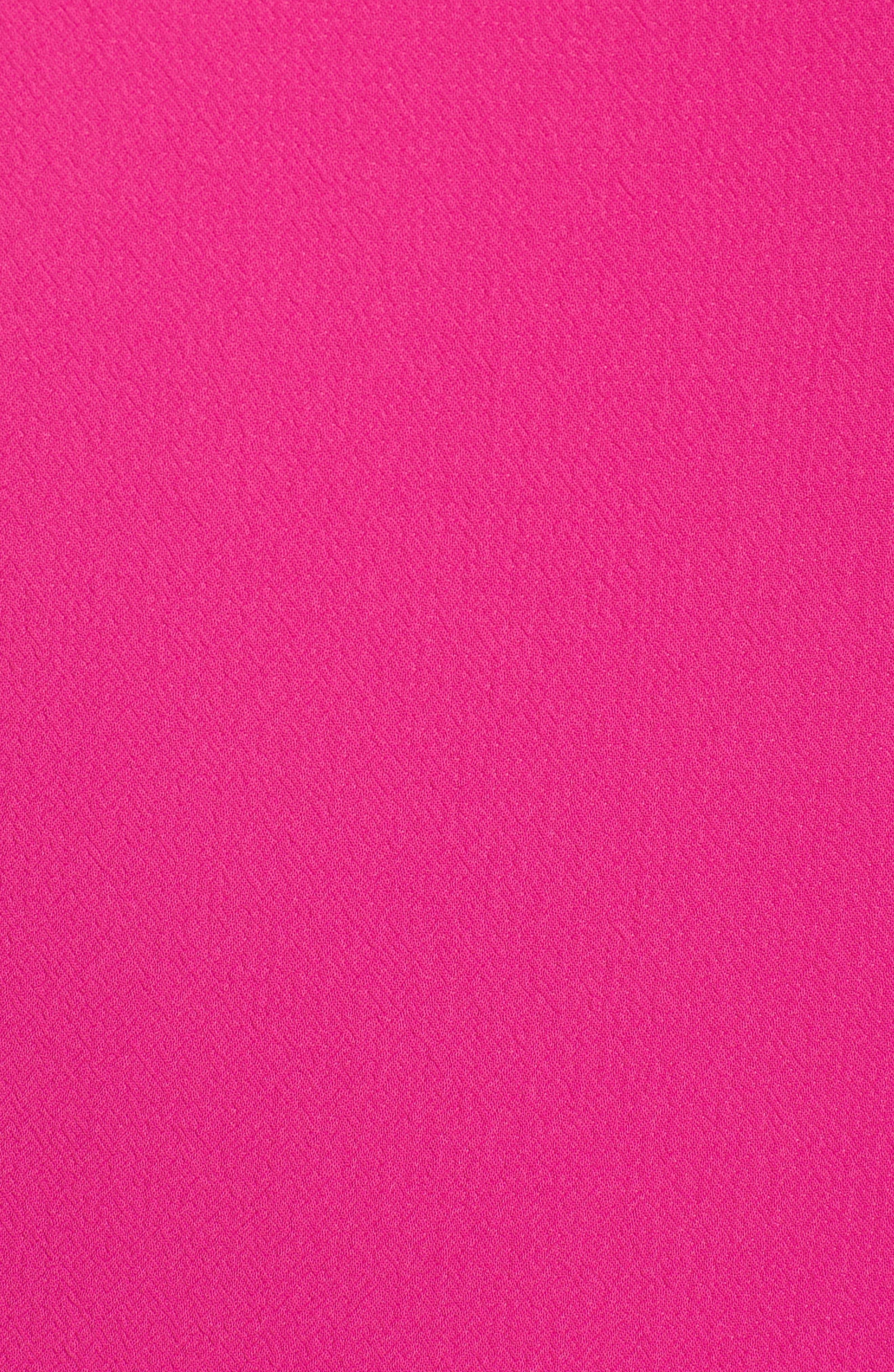 Alternate Image 6  - Eliza J Shoulder Bow Shift Dress (Plus Size)