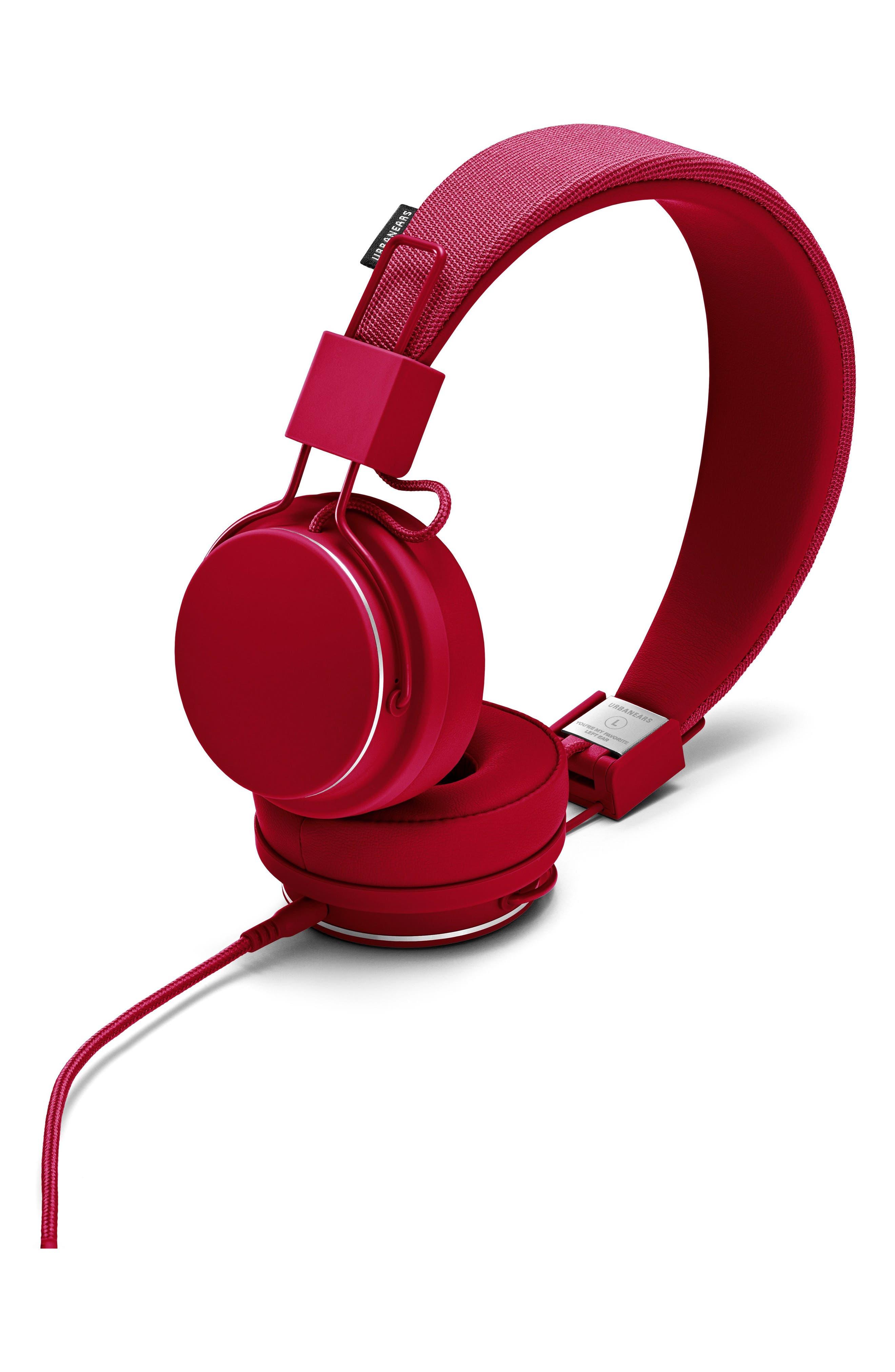 Plattan II On-Ear Headphones,                             Main thumbnail 1, color,                             Beryl Red