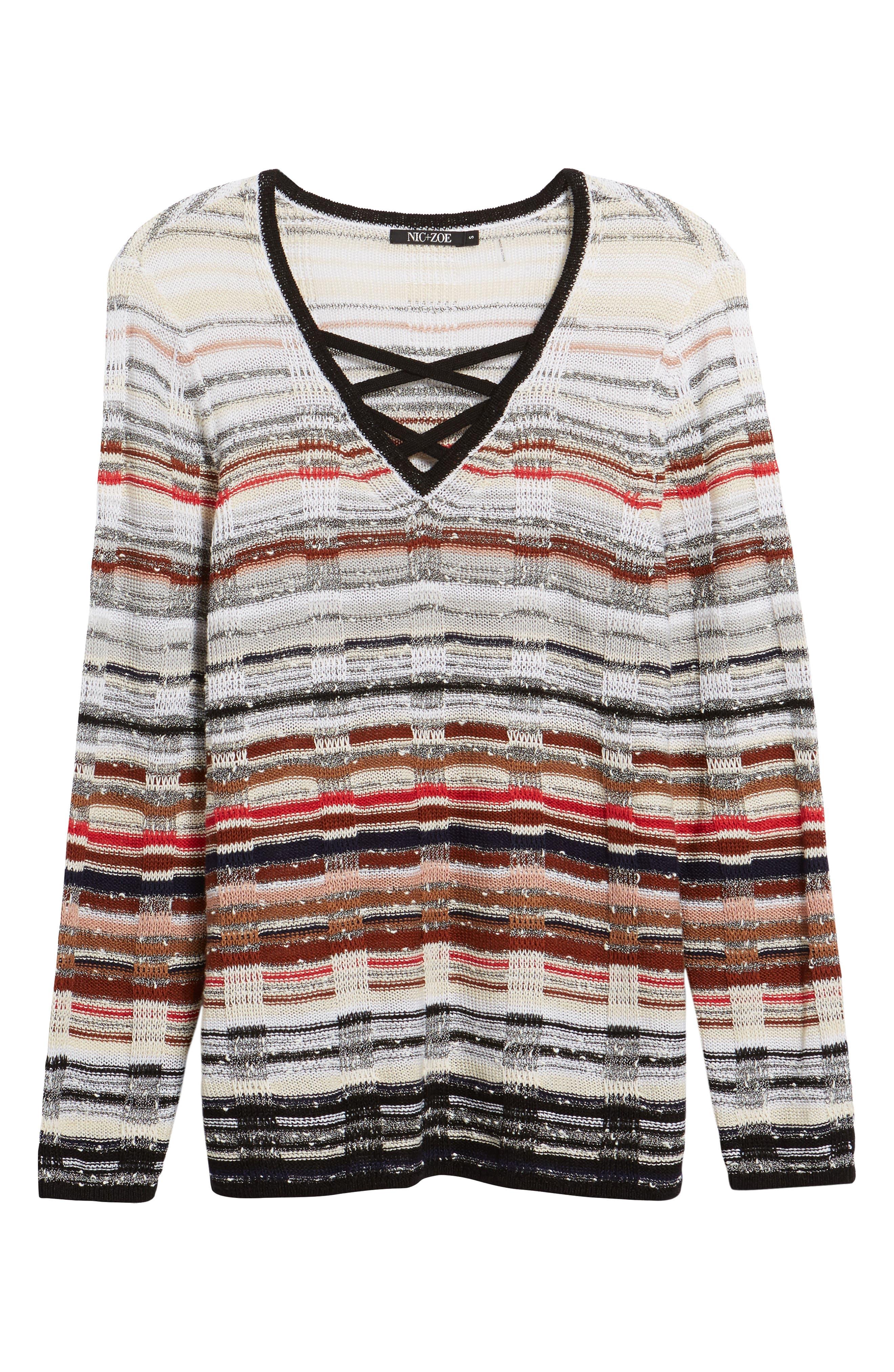 Alternate Image 6  - NIC+ZOE Red Hills Sweater (Regular & Petite)