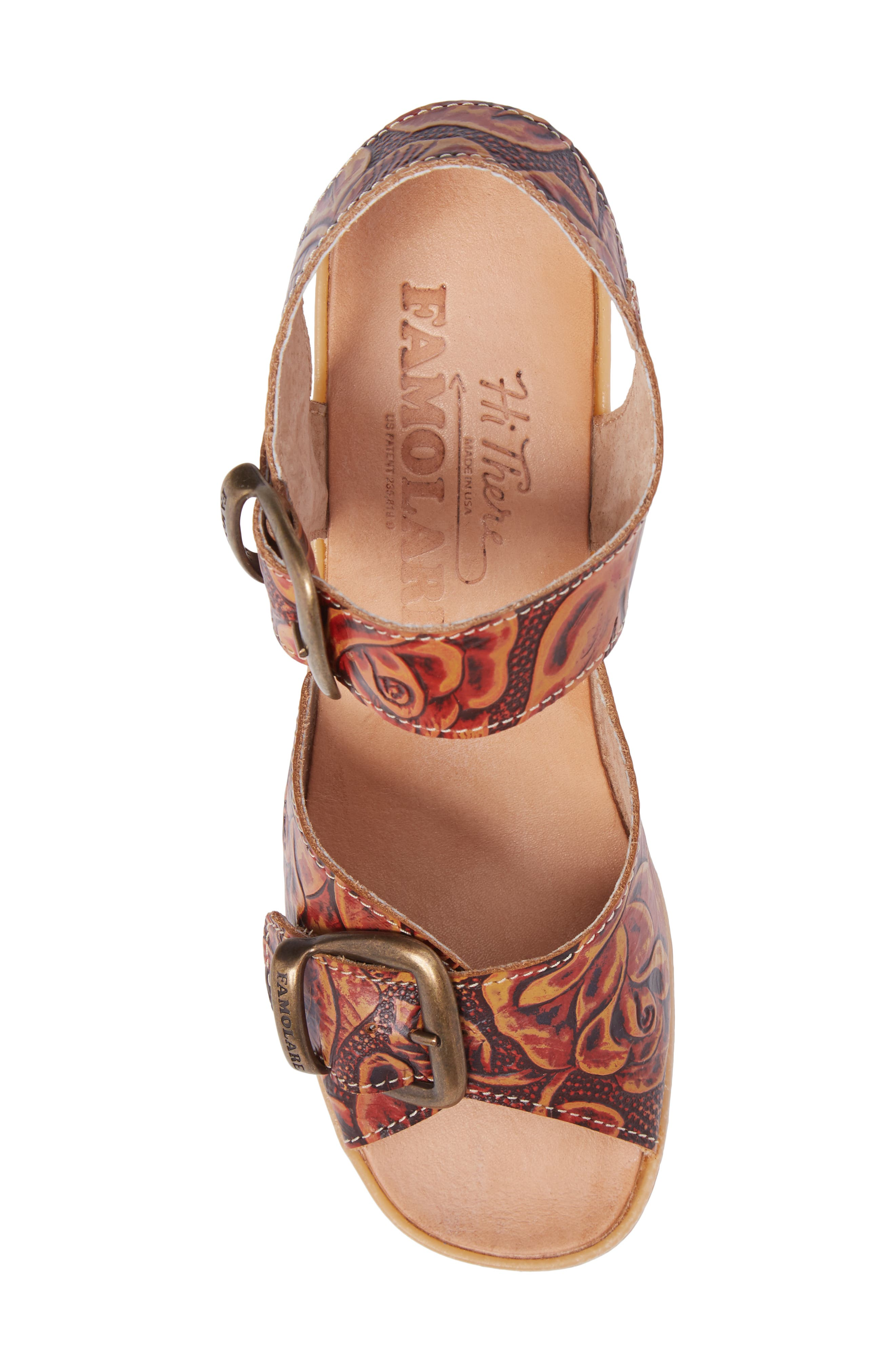 Alternate Image 5  - Famolare Double Vision Wedge Sandal (Women)