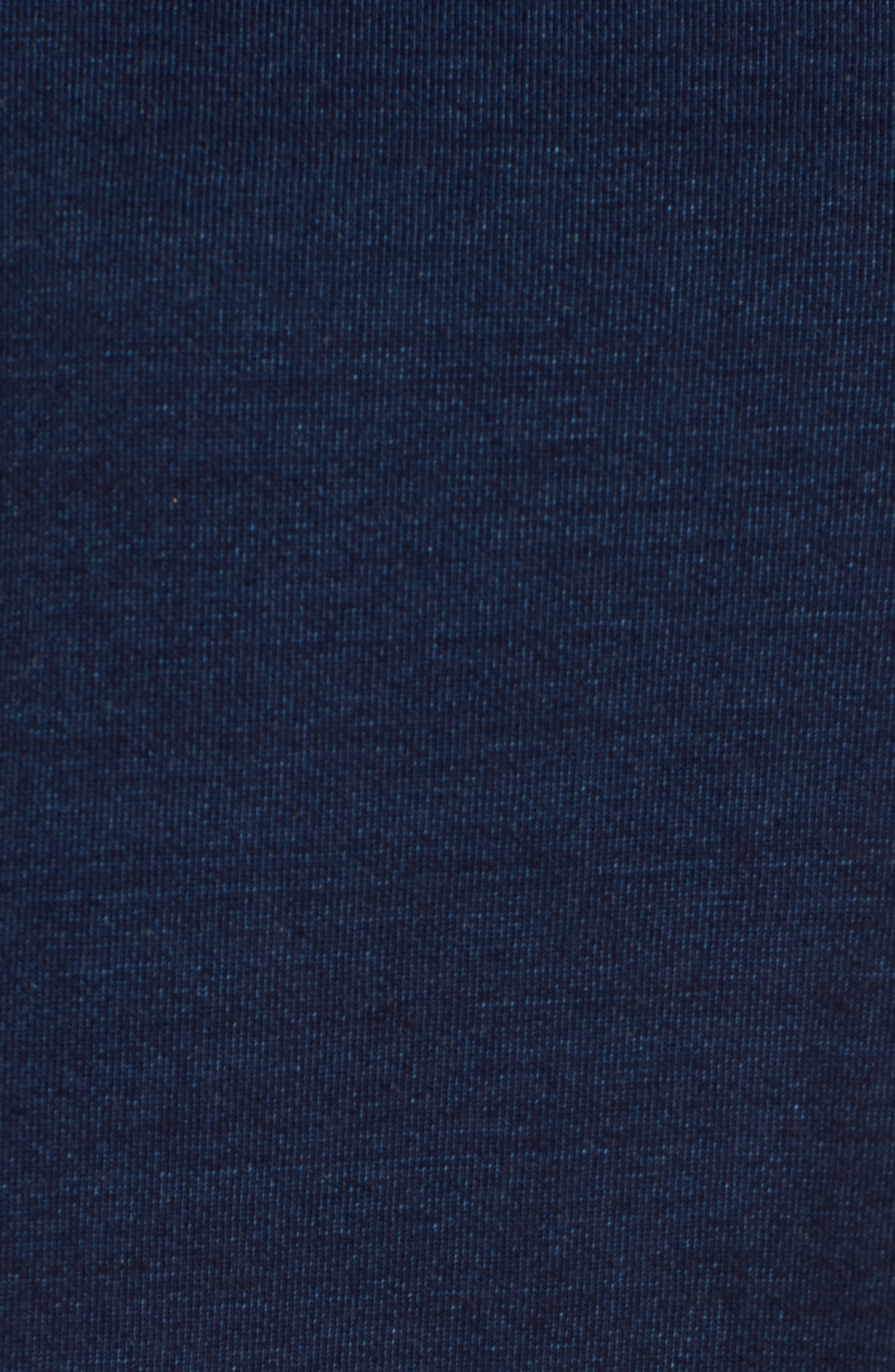 Alternate Image 5  - AG Bes Ruffle Sweatshirt