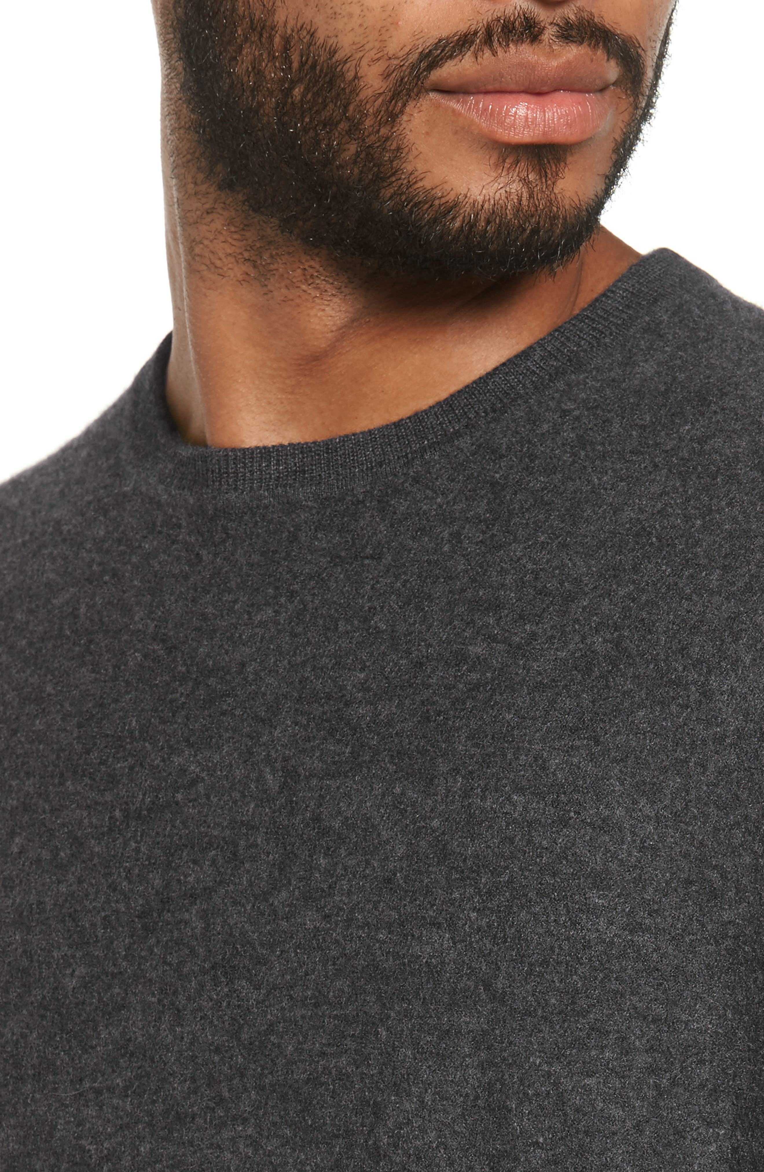 Alternate Image 8  - Vince Cashmere Crewneck Sweater