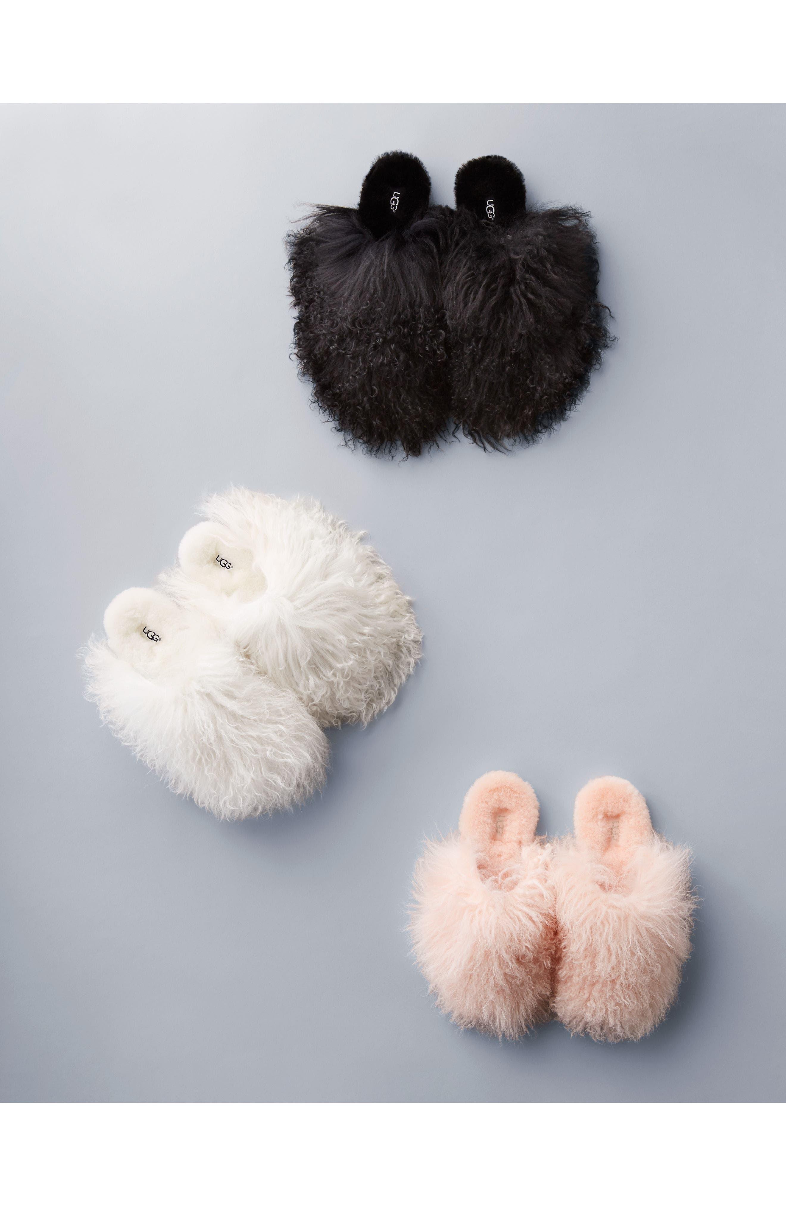 Alternate Image 7  - UGG® Fluff Momma Genuine Shearling Slipper (Women)