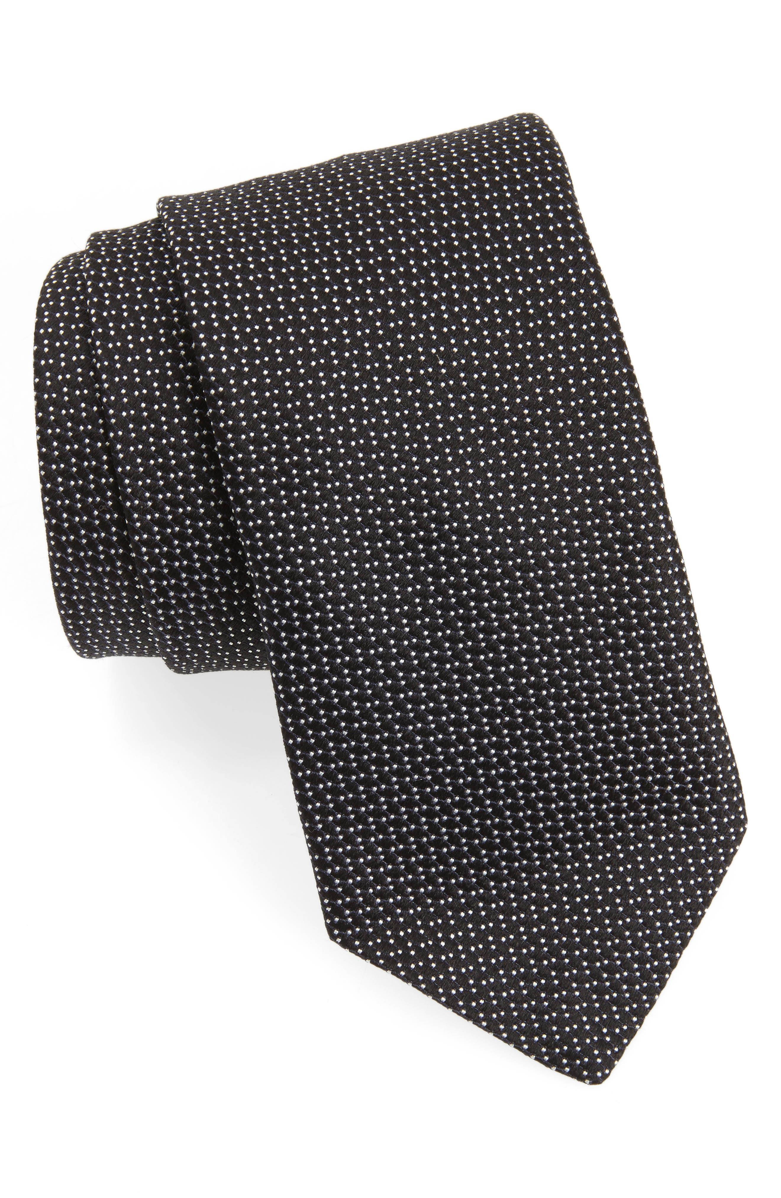 Alternate Image 1 Selected - John Varvatos Star USA Dot Silk Tie