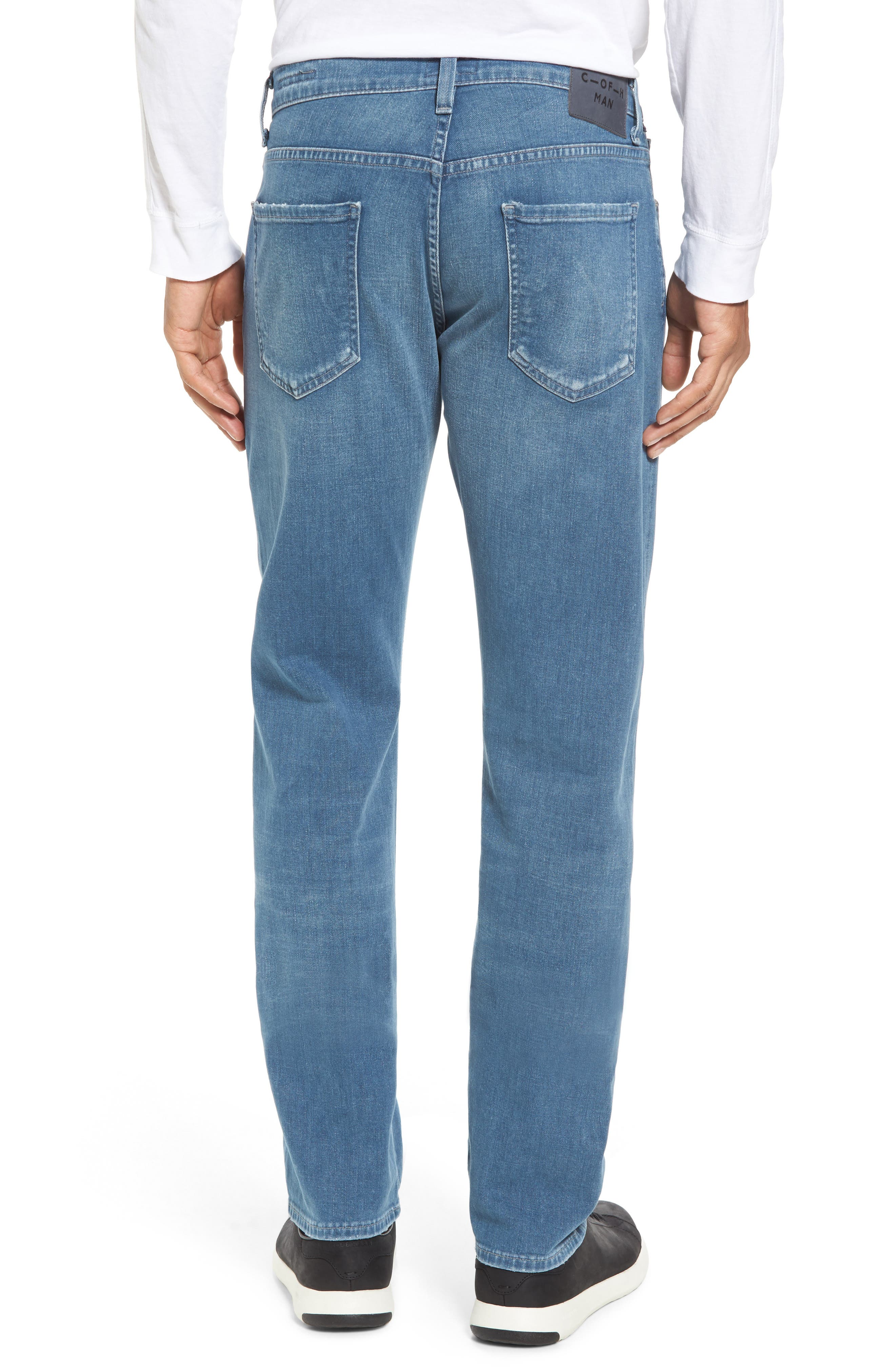 Alternate Image 2  - Citizens of Humanity Core Slim Fit Jeans (Silverstone)