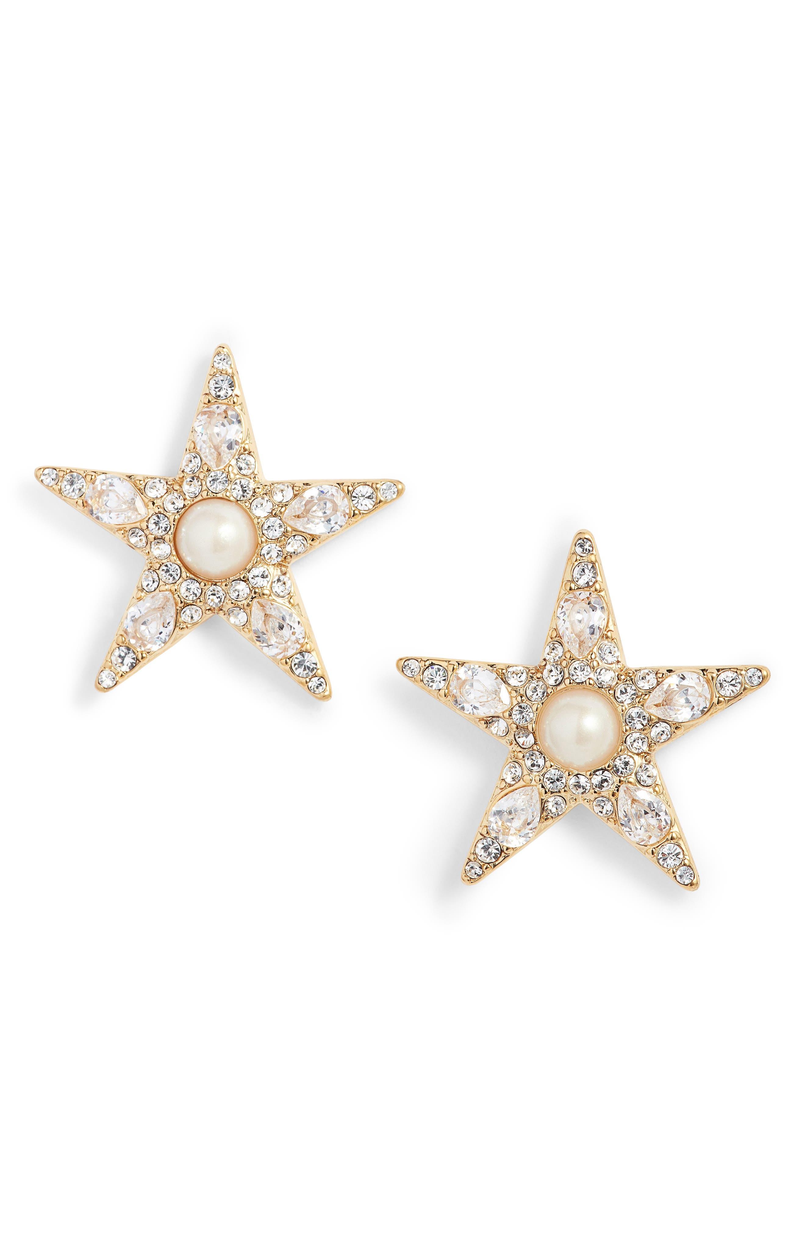 kate spade new york seeing stars statement stud earrings