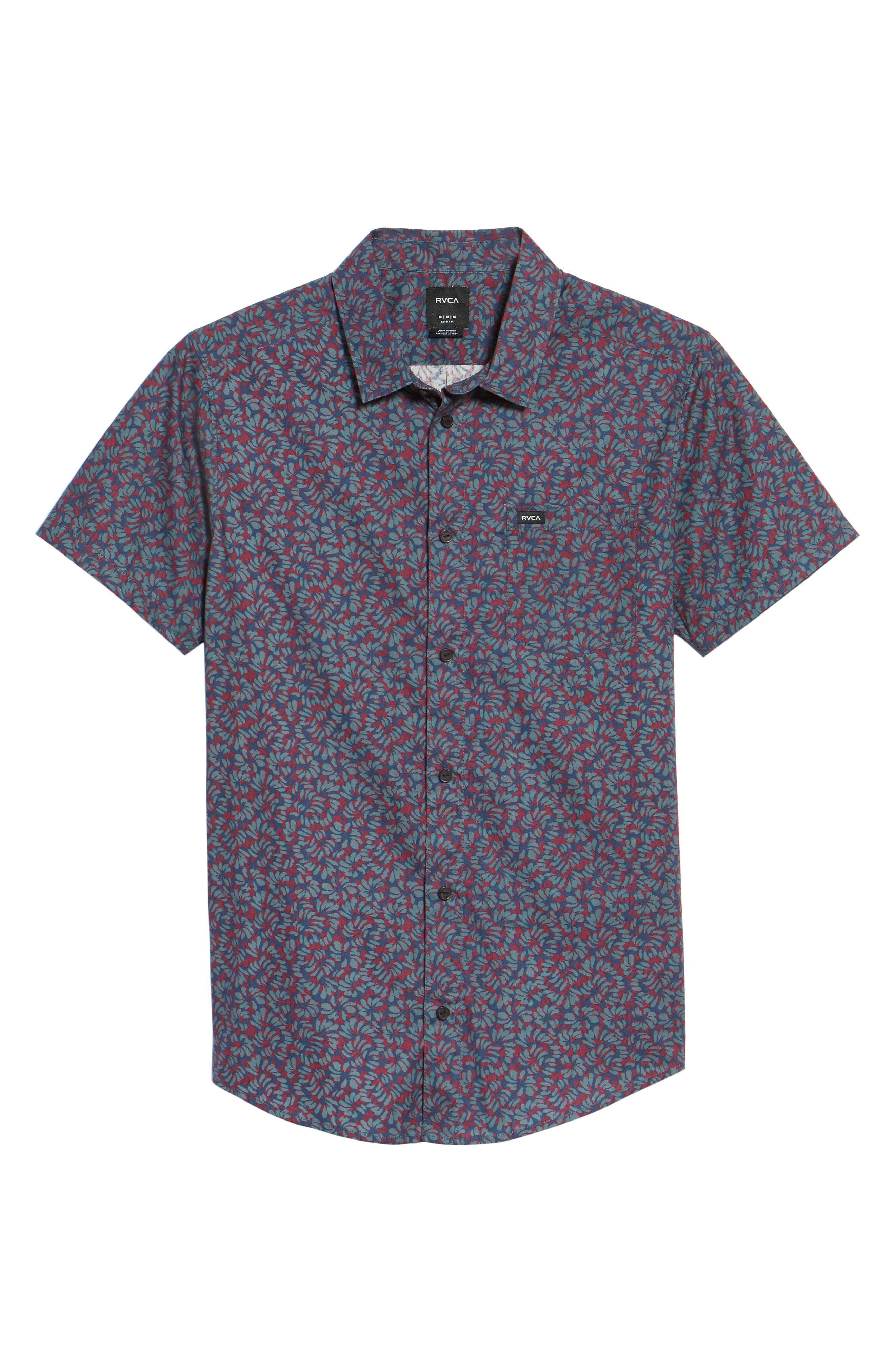 Alternate Image 6  - RVCA Brong Short Sleeve Shirt