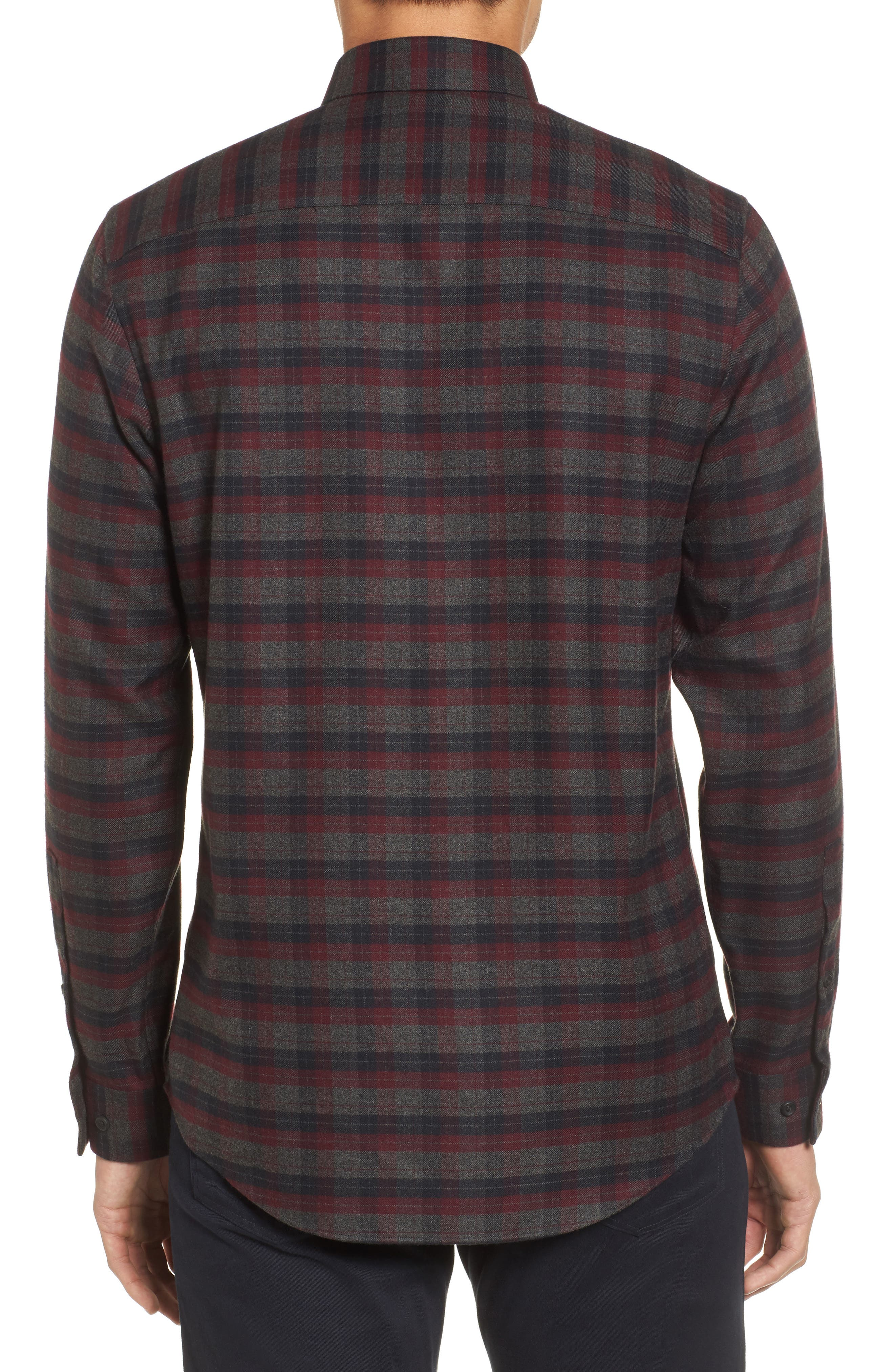 Alternate Image 2  - Calibrate Check Flannel Sport Shirt